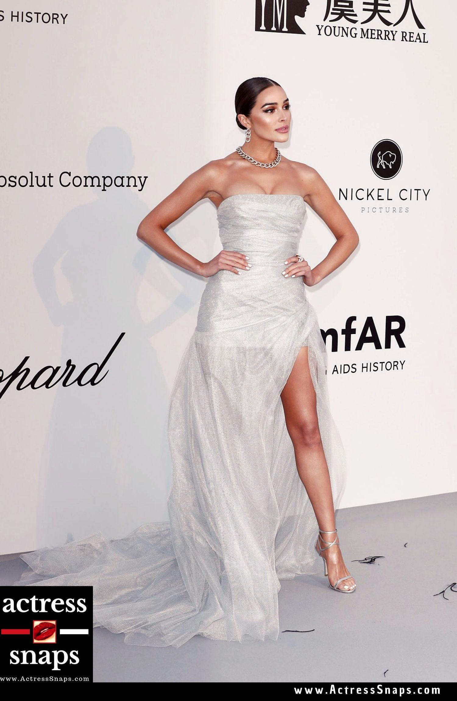 Olivia Culpo - amfAR Cannes Gala 2019 - Sexy Actress Pictures | Hot Actress Pictures - ActressSnaps.com