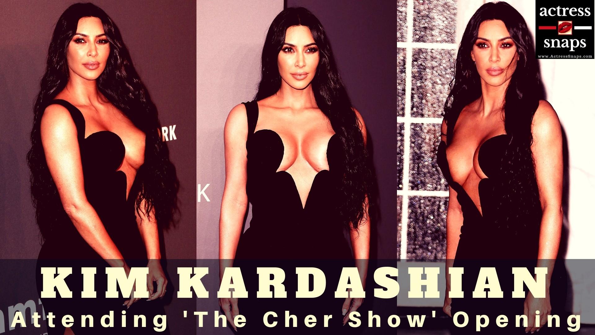 Kim Kardashian at amfAR 2019 Gala - Sexy Actress Pictures   Hot Actress Pictures - ActressSnaps.com