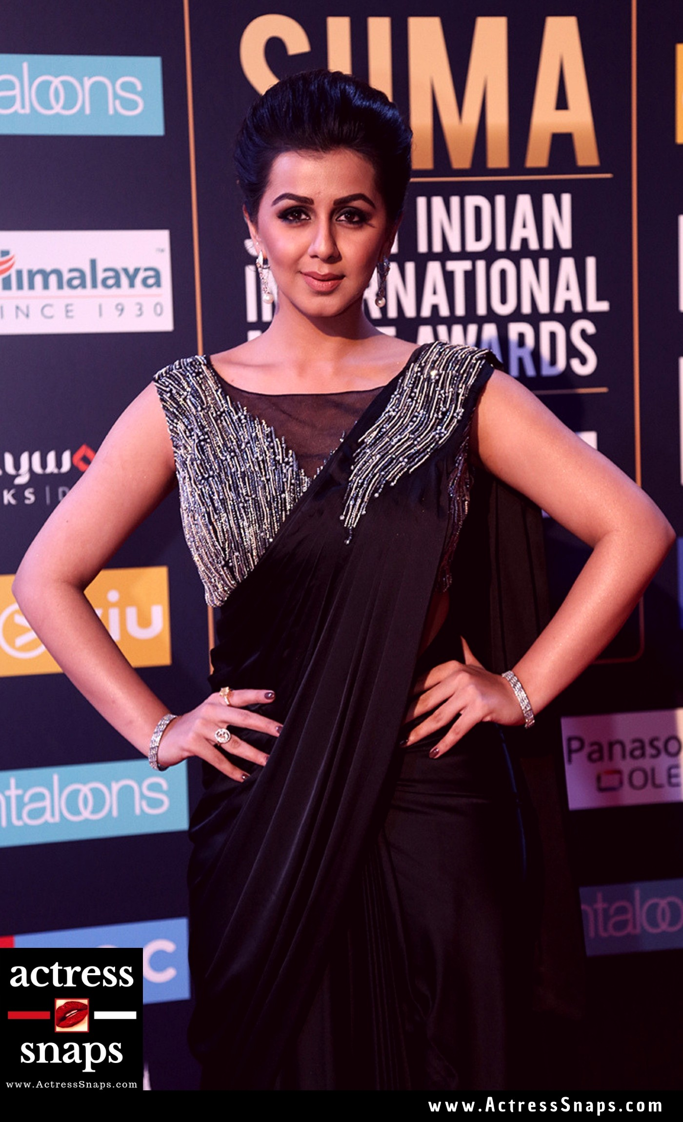 Beautiful Nikki Galrani at SIIMA Event Pictures - Sexy Actress Pictures | Hot Actress Pictures - ActressSnaps.com