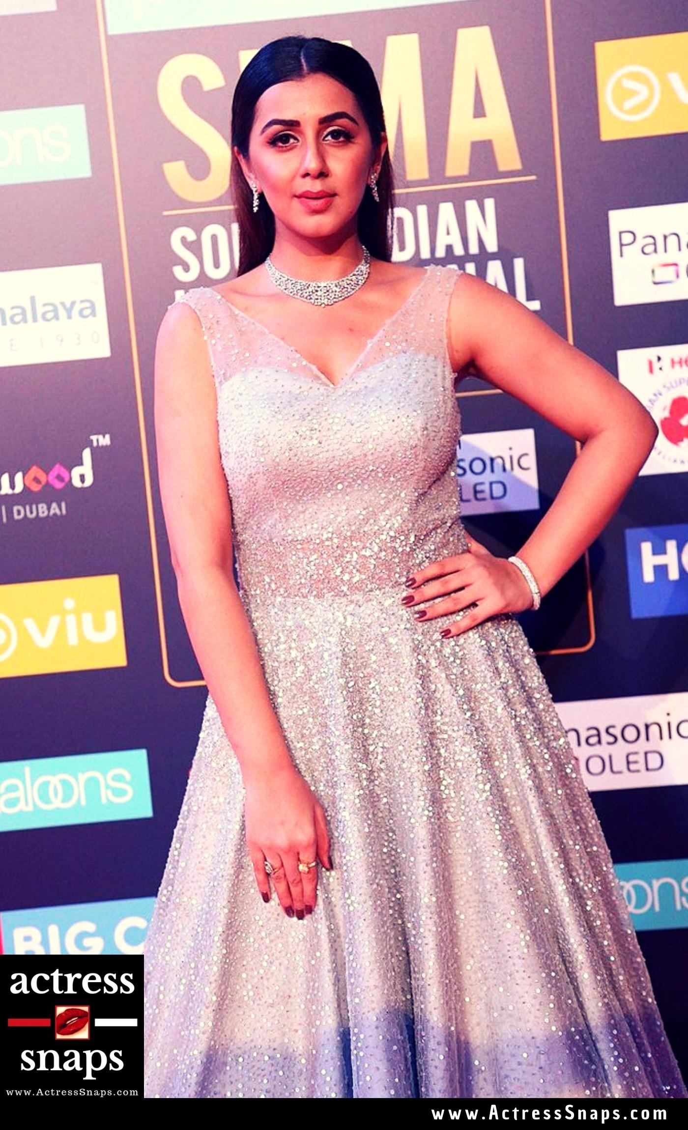 Beautiful Nikki Galrani at SIIMA Event Pictures - Sexy Actress Pictures | Hot Actress Pictures - ActressSnaps.com