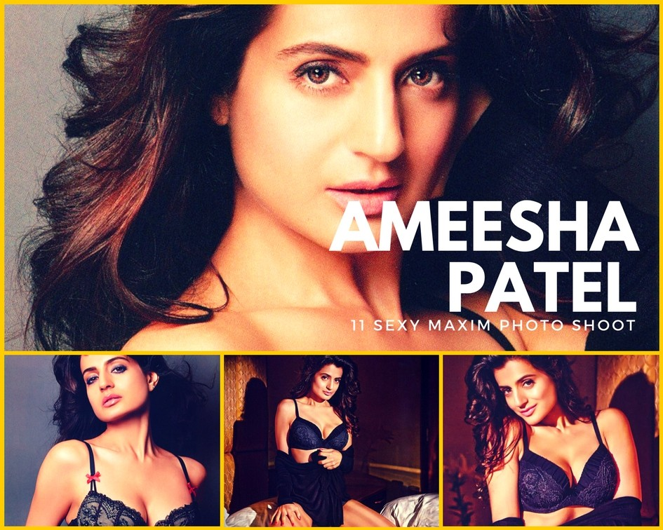 Ameesha Patel Sexy Maxim Magazine Photo Shoot - Sexy Actress Pictures | Hot Actress Pictures