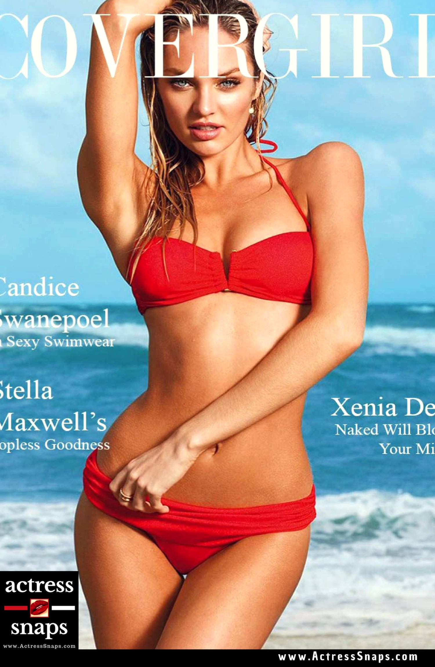 Sexy Candice Swanepoel Lingerie Photos collections from CoverGirl Magazine