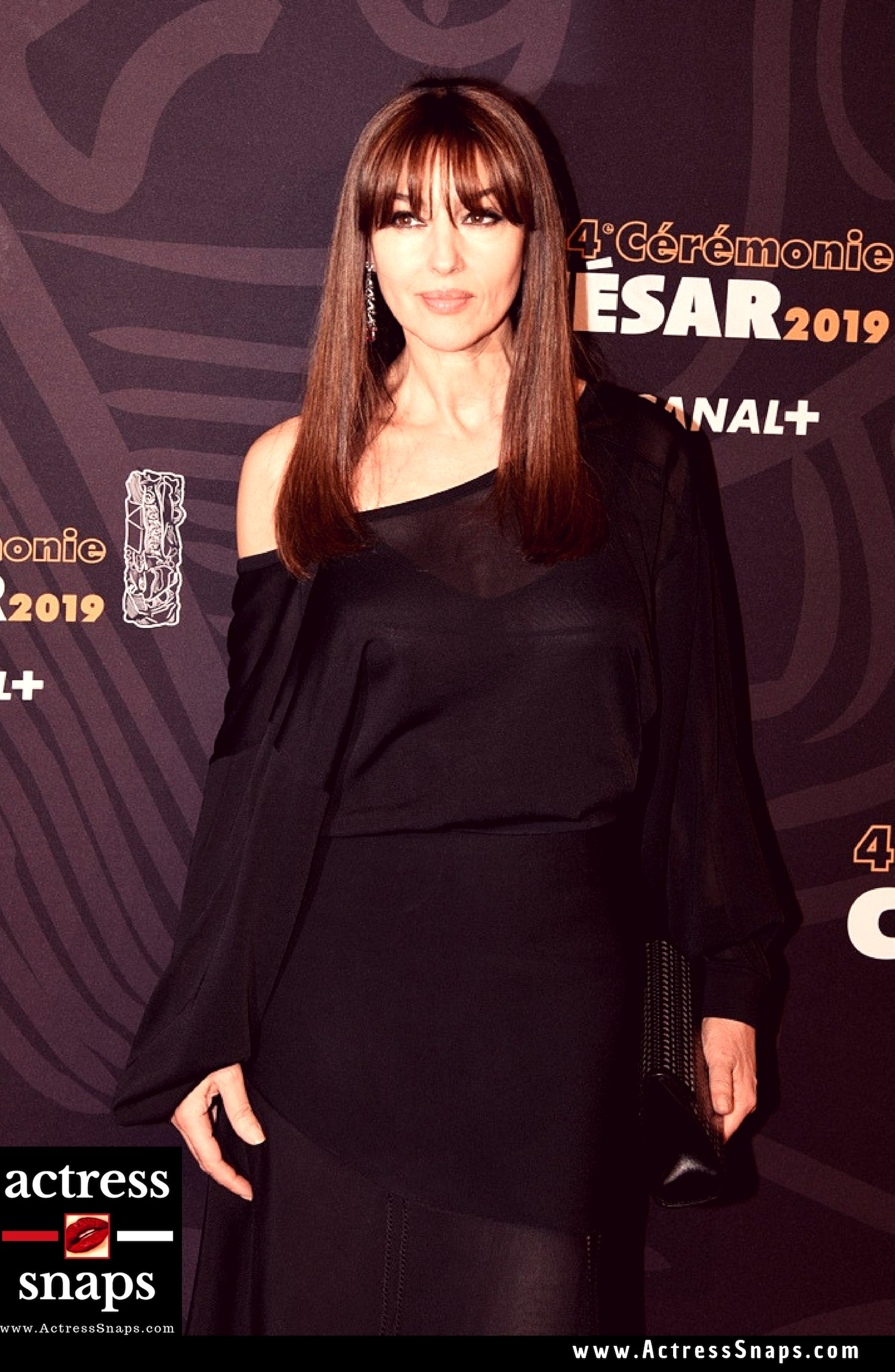 Monica Bellucci - Cesar Award 2019 - Sexy Actress Pictures | Hot Actress Pictures - ActressSnaps.com