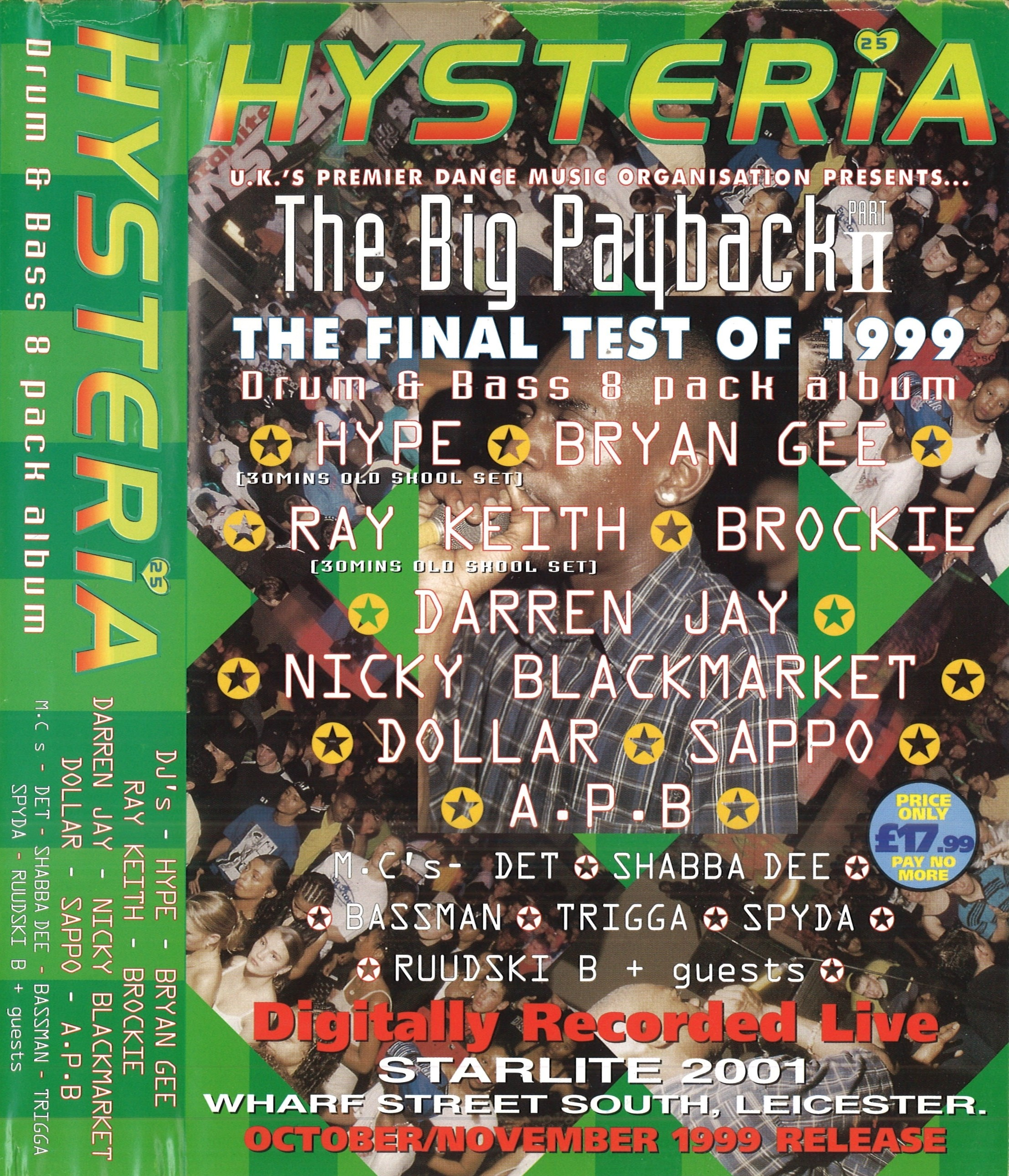 Hysteria 25 'The Big Payback Part II' - 24 09 1999