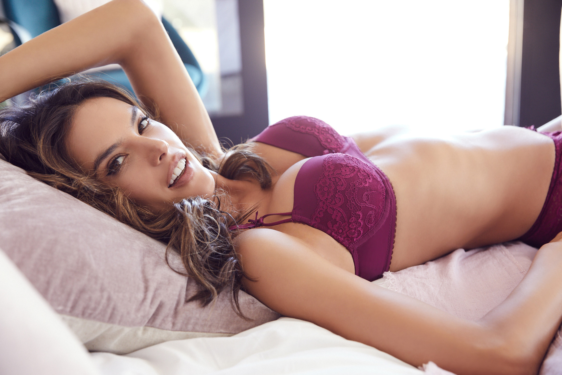 Alessandra Ambrosio - LASCANA Lingerie Photo Shoot - Sexy Actress Pictures | Hot Actress Pictures