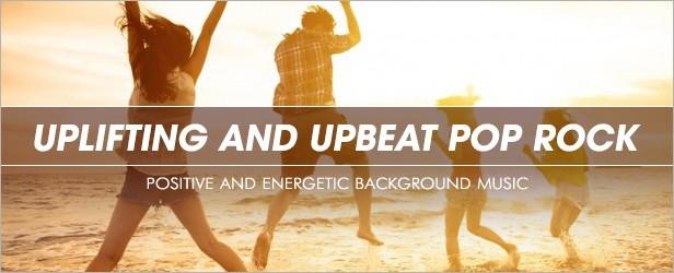 Uplifting and Upbeat Pop Rock - 1