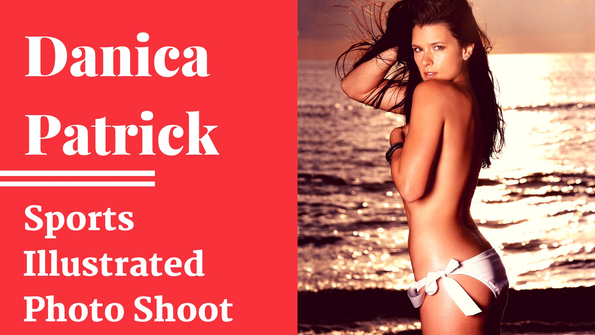 Danica Patrick -  Sexy Sports Illustrtated Photo Shoot - Sexy Actress Pictures | Hot Actress Pictures - ActressSnaps.com
