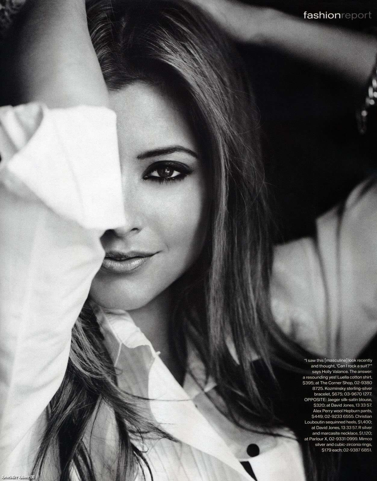 Holy Valance - Instyle Magazine Scans - Sexy Actress Pictures   Hot Actress Pictures - ActressSnaps.com