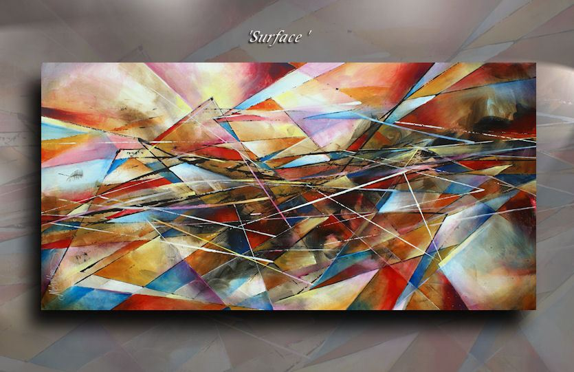 Details About Michael Lang Painting Abstract Modern Contemporary Certified Original Art