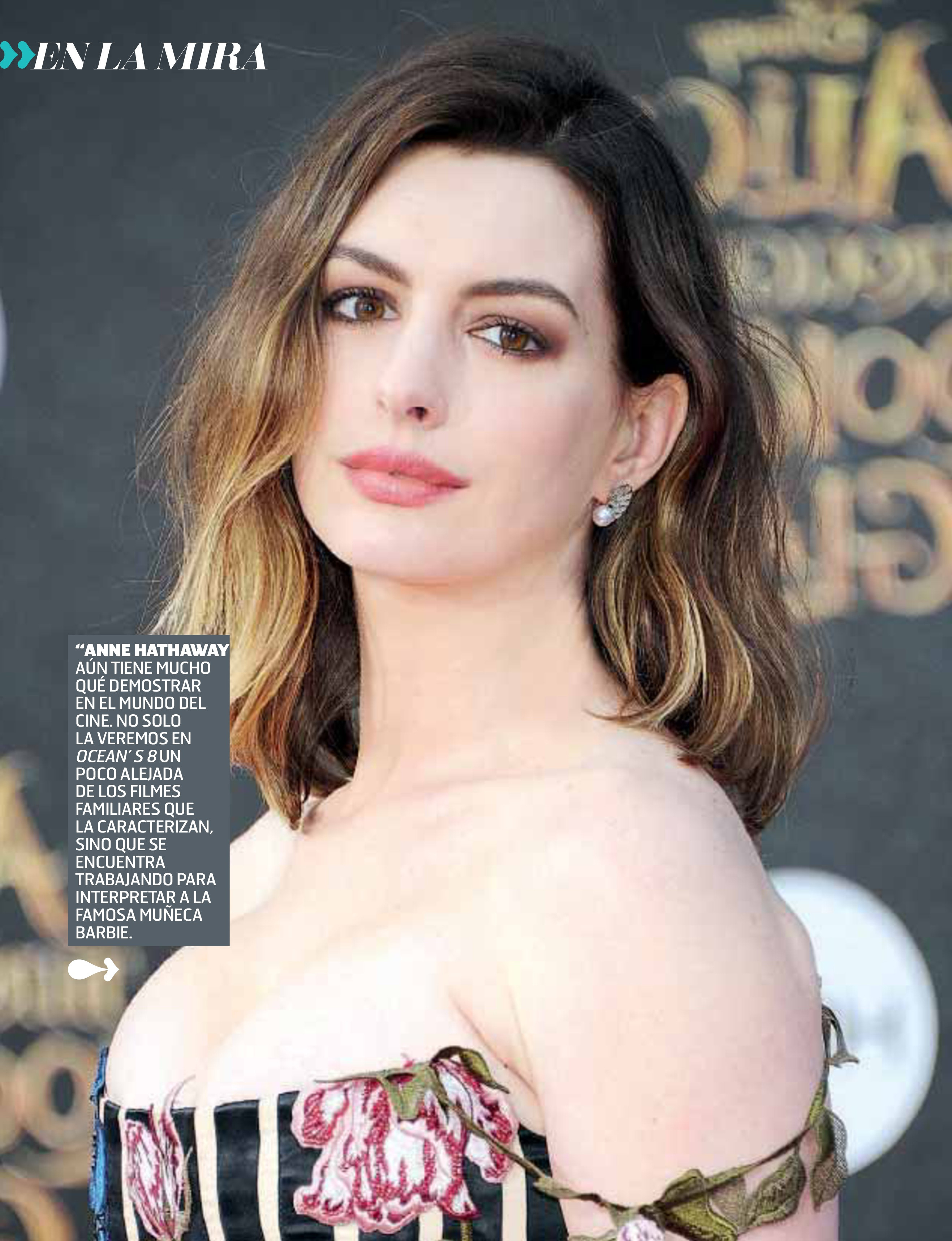 Anne Hathaway - Oh! Magazine Scans - Sexy Actress Pictures | Hot Actress Pictures - ActressSnaps.com