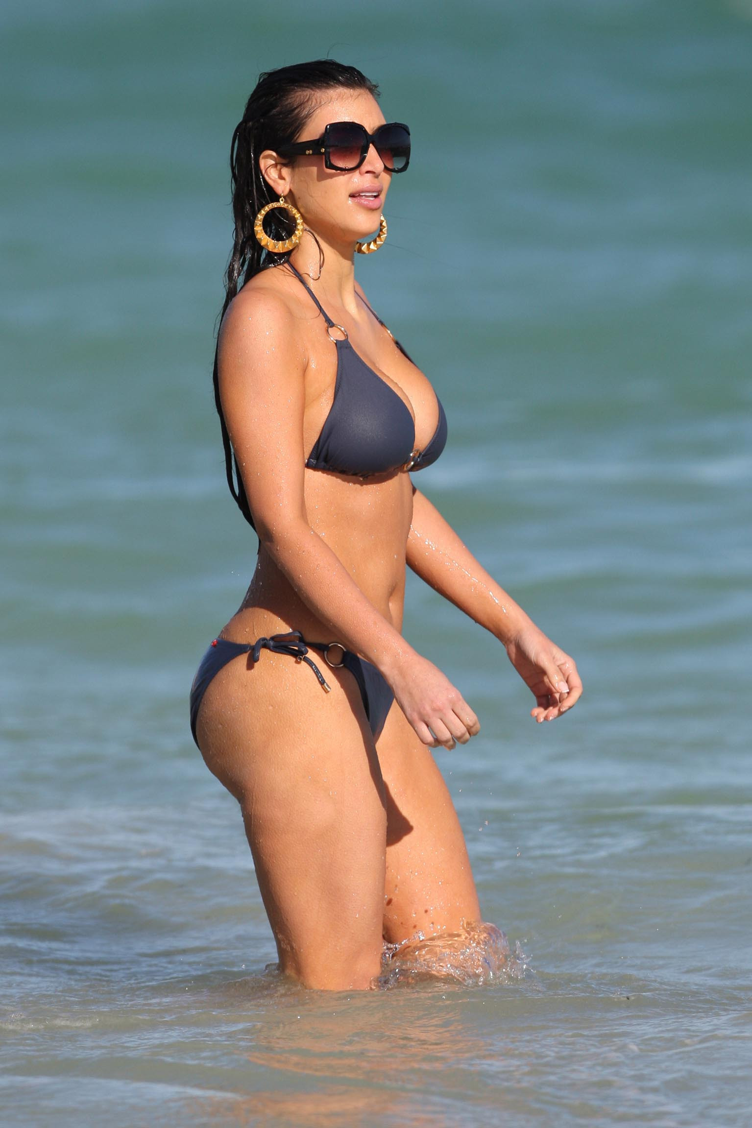 Spiciest Bikini Pictures of Kim Kardashian - Sexy Actress Pictures | Hot Actress Pictures
