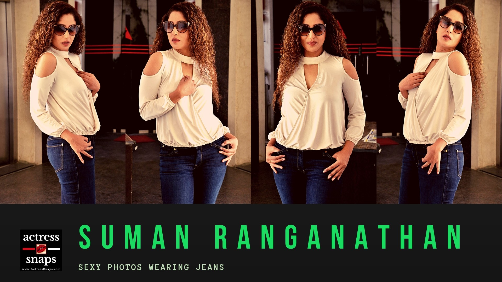 Sexy Suman Ranganathan in Blue Jeans and Top - Sexy Actress Pictures | Hot Actress Pictures - ActressSnaps.com
