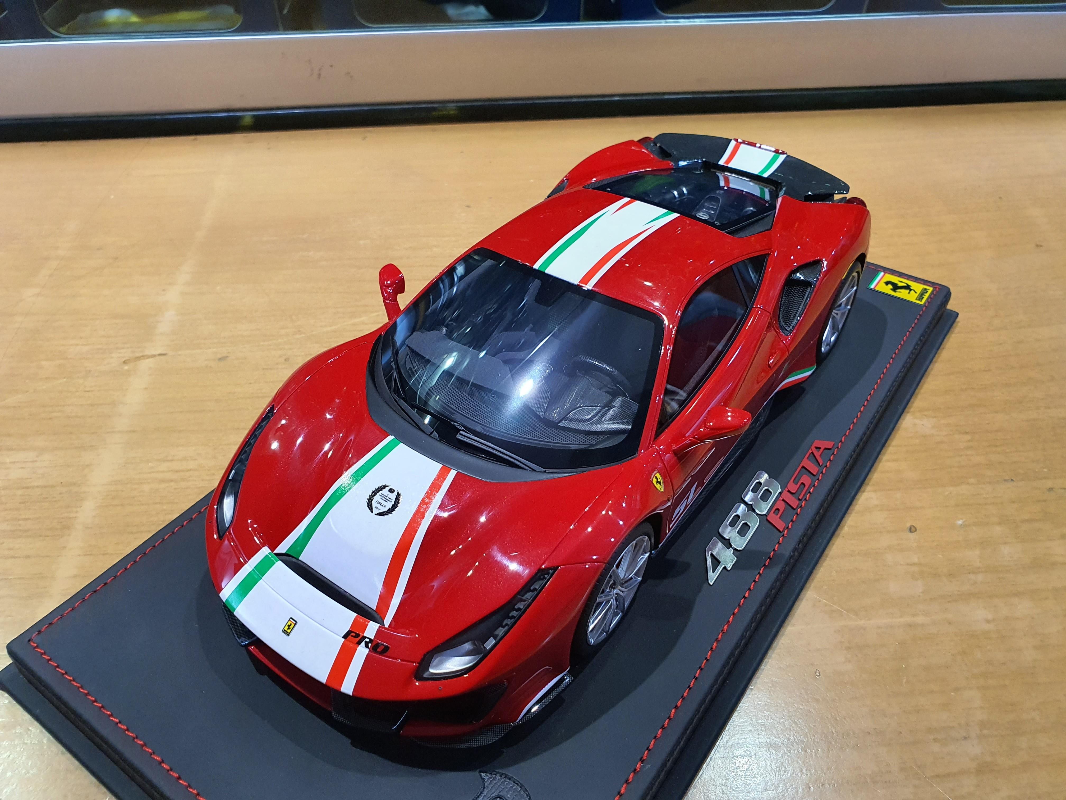 Bbr 488 Pista Piloti Ferrari Diecastxchange Com Diecast Cars Forums