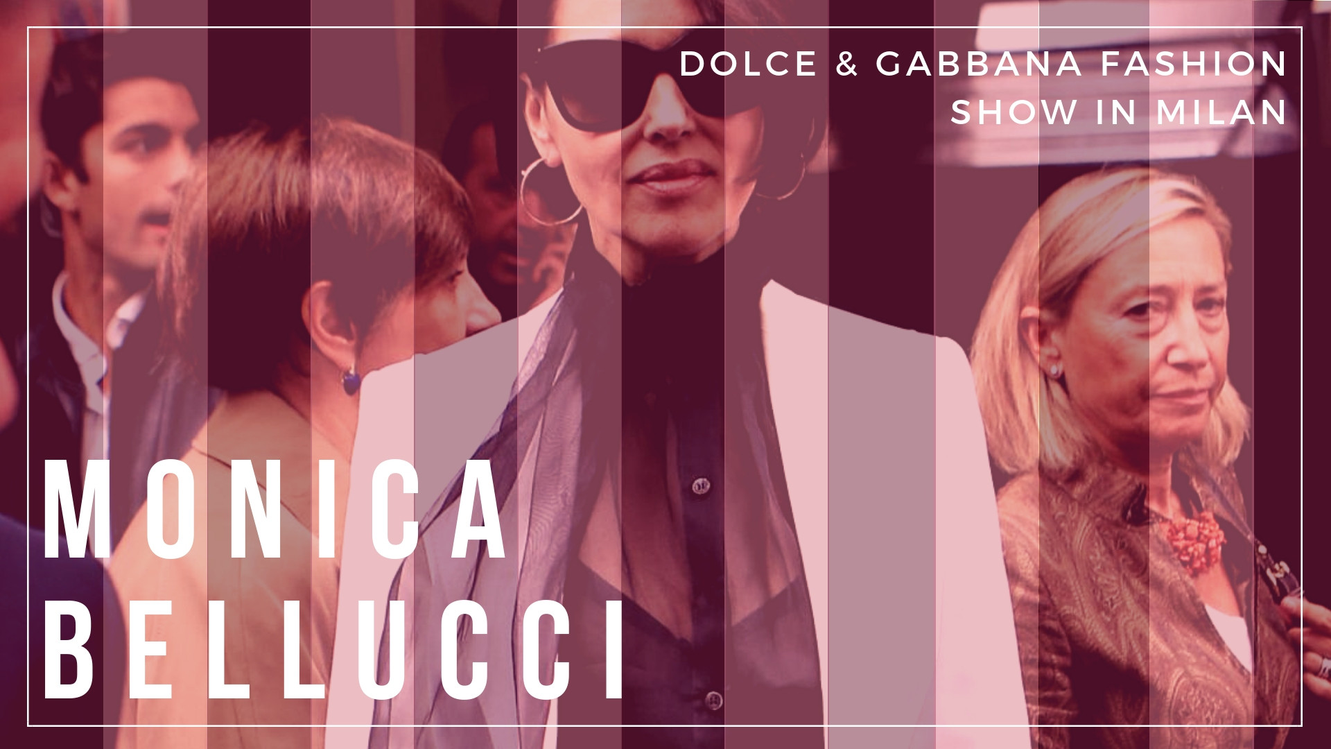 Monica Bellucci - Dolce & Gabanna Fashion Show - Sexy Actress Pictures | Hot Actress Pictures - ActressSnaps.com