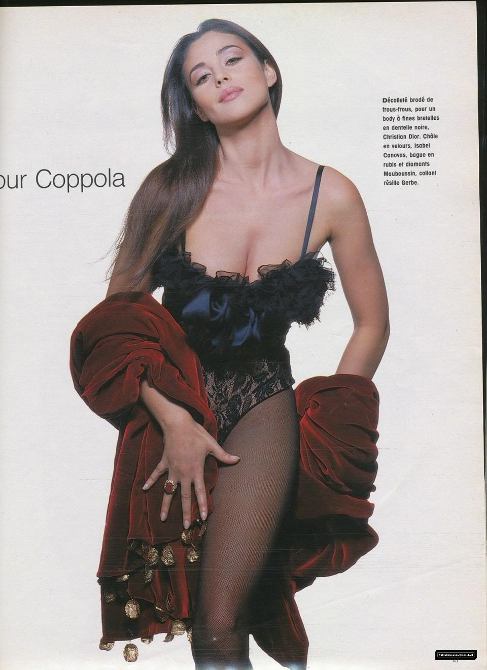 Monica Bellucci in Prestige Magazine Scans - Sexy Actress Pictures | Hot Actress Pictures - ActressSnaps.com