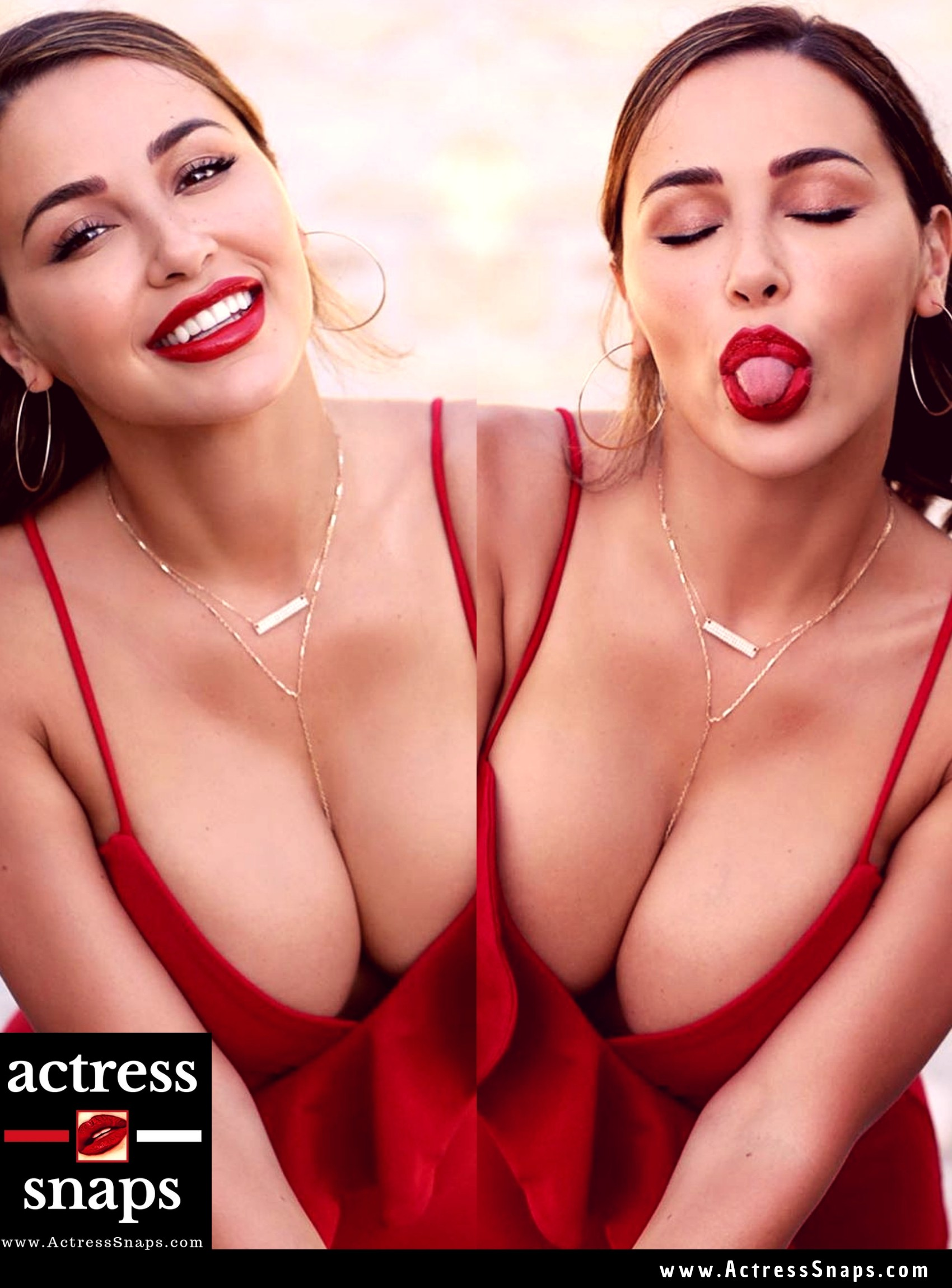 Sexy Ana Cheri in Red Dress - Sexy Actress Pictures | Hot Actress Pictures - ActressSnaps.com