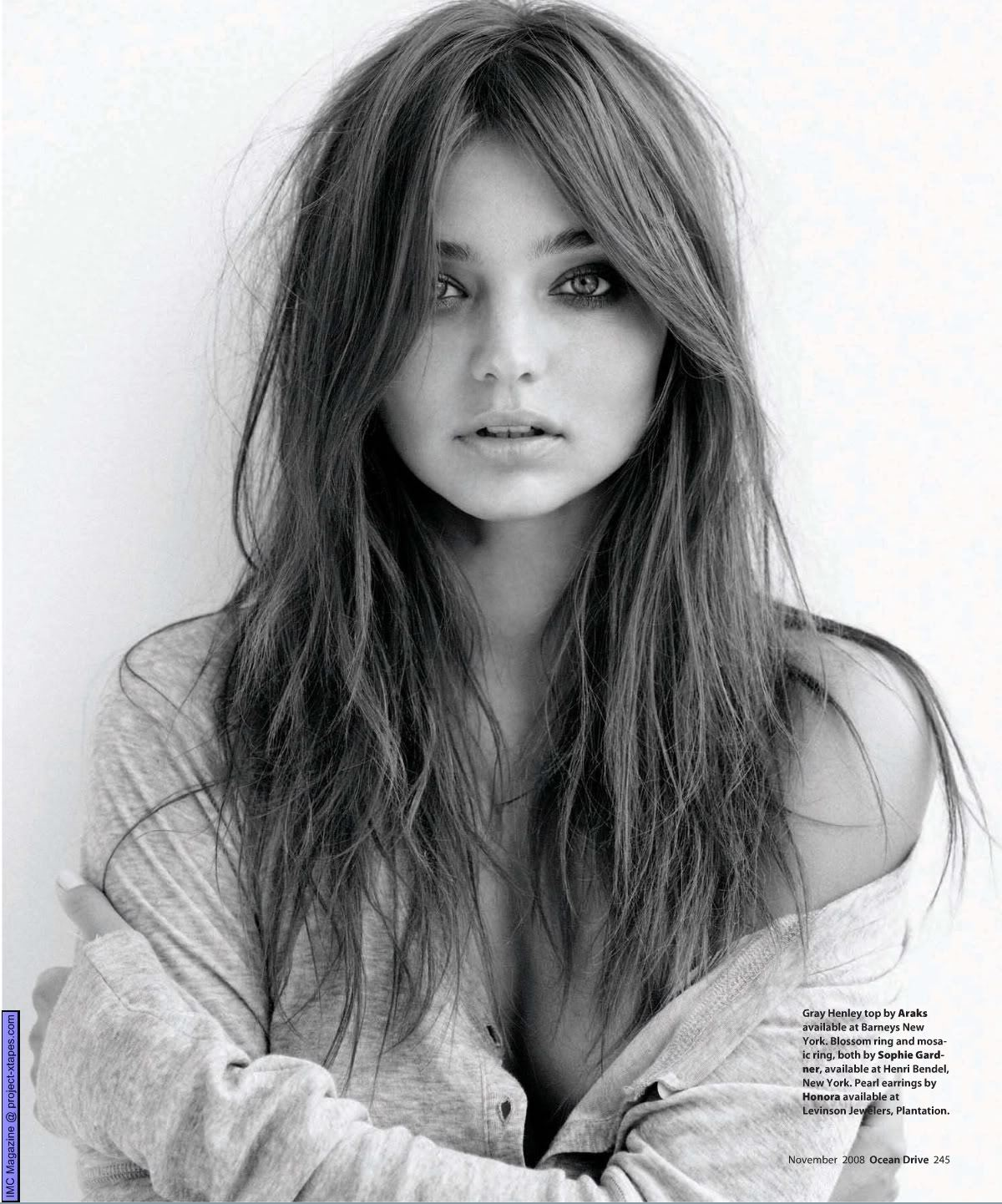 Miranda Kerr - Ocean Drive Magazine - Sexy Actress Pictures | Hot Actress Pictures - ActressSnaps.com