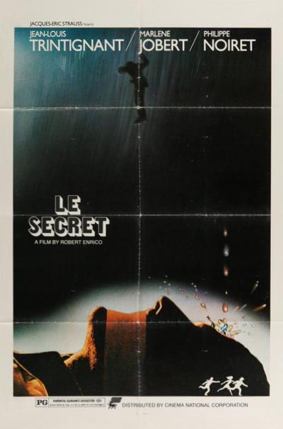 Robert Enrico – Le secret AKA The Secret (1974).  29f7c043f76a2bde437fd0d52a185152