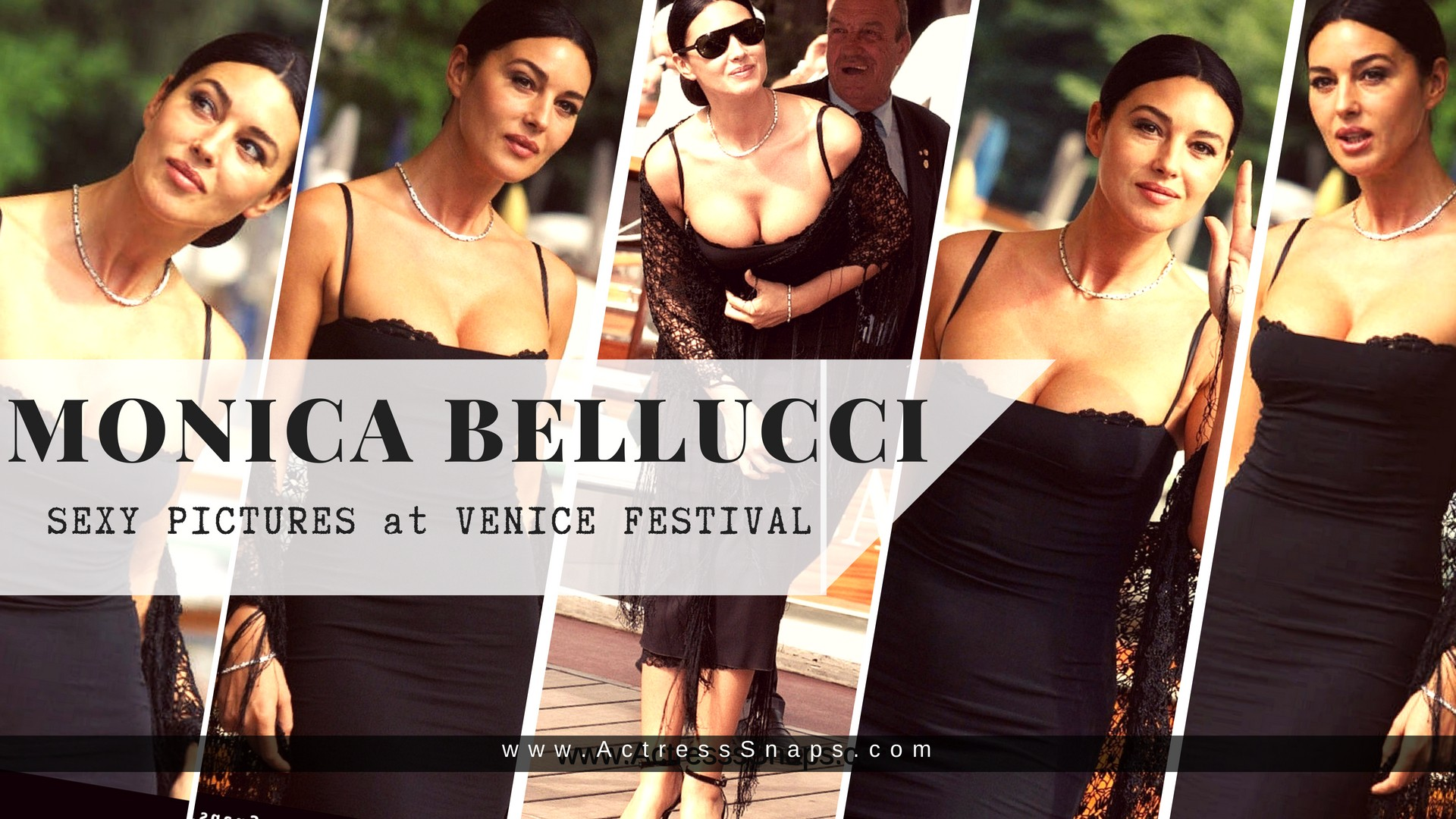 Sexy Monica Bellucci from venice Film Festival - Sexy Actress Pictures | Hot Actress Pictures - ActressSnaps.com