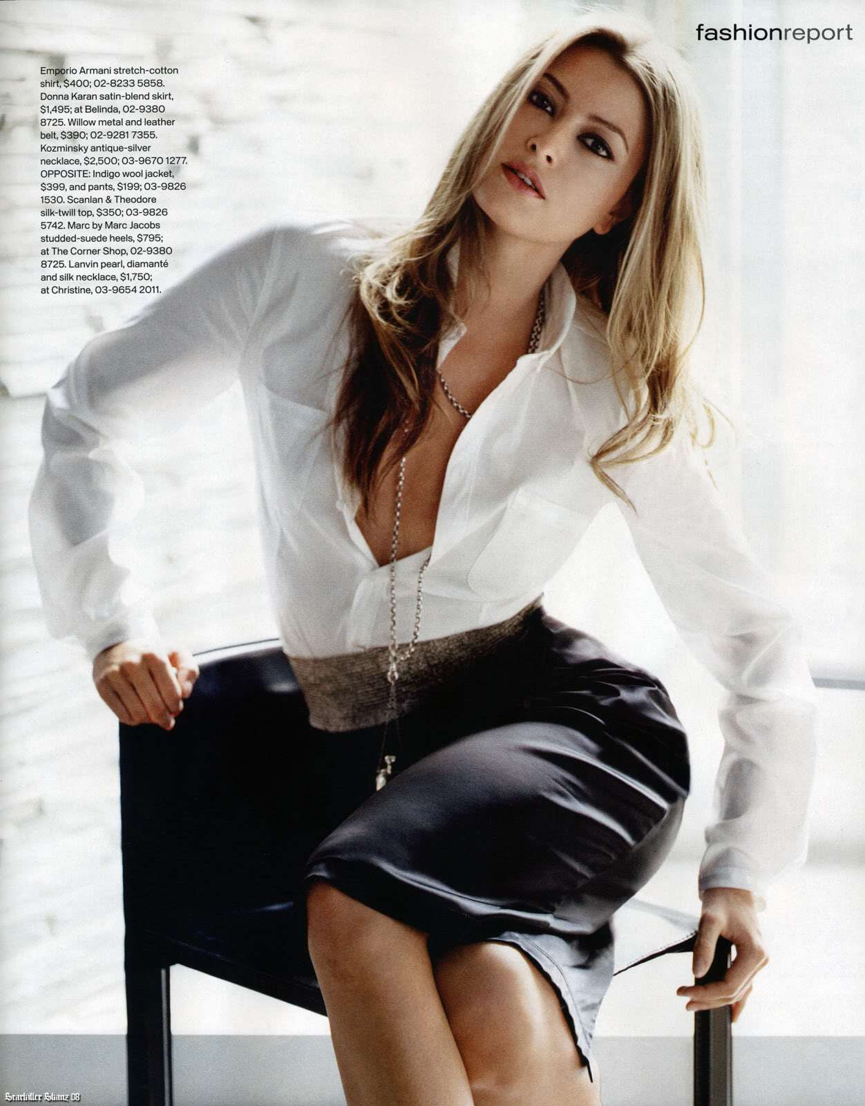 Holy Valance - Instyle Magazine Scans - Sexy Actress Pictures | Hot Actress Pictures - ActressSnaps.com