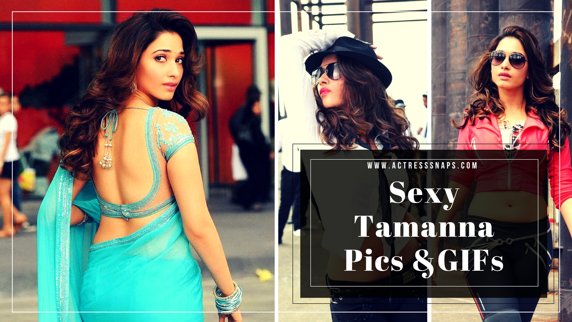 Sexy Telugu Actress Tamanna Images and GIFs - Sexy Actress Pictures | Hot Actress Pictures