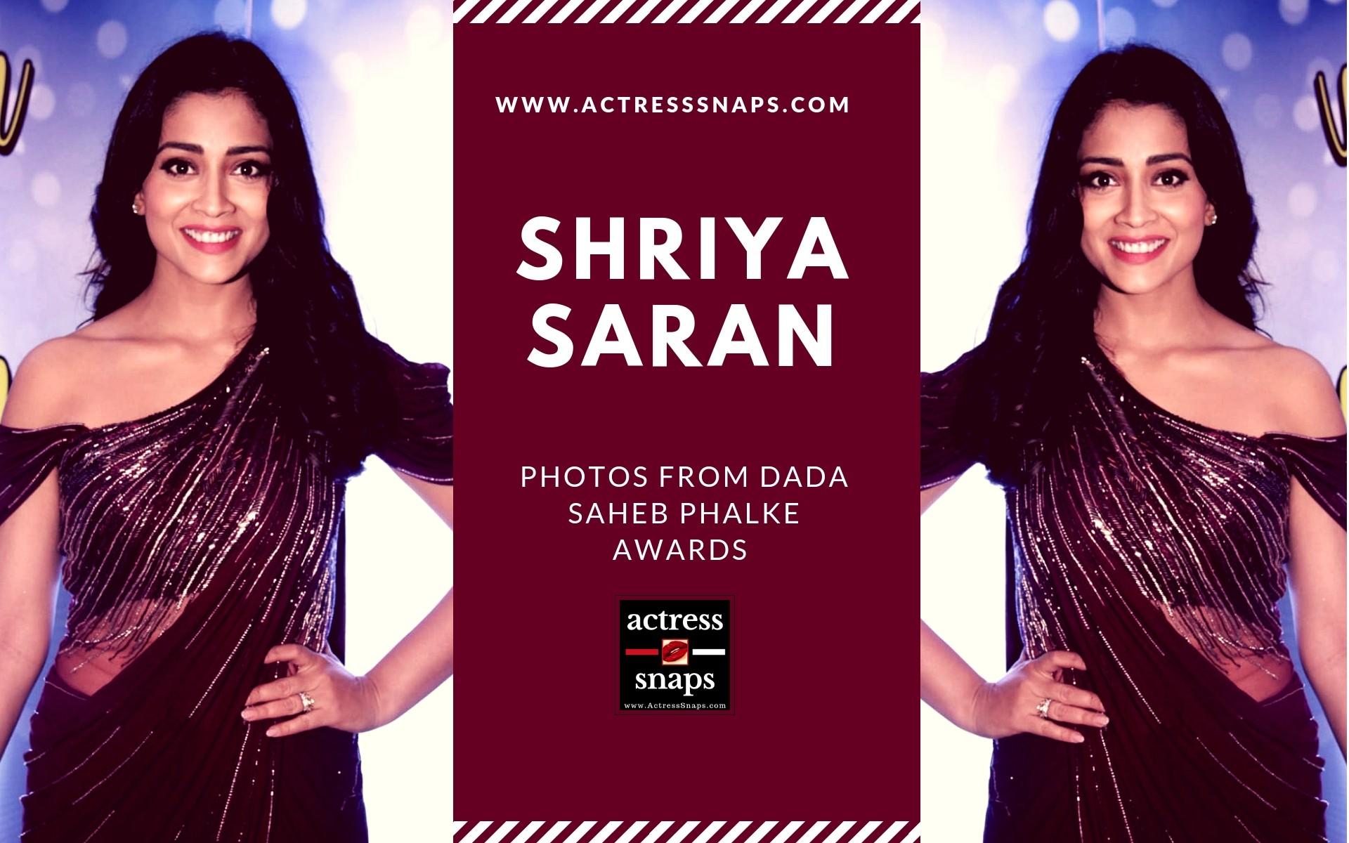 Shriya Saran Photos from DadaSaheb Phalke Awards - Sexy Actress Pictures | Hot Actress Pictures - ActressSnaps.com