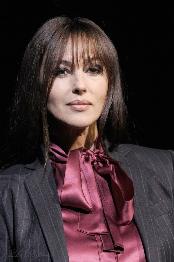 Monica Bellucci from Milan Fashion Show - Sexy Actress Pictures | Hot Actress Pictures - ActressSnaps.com