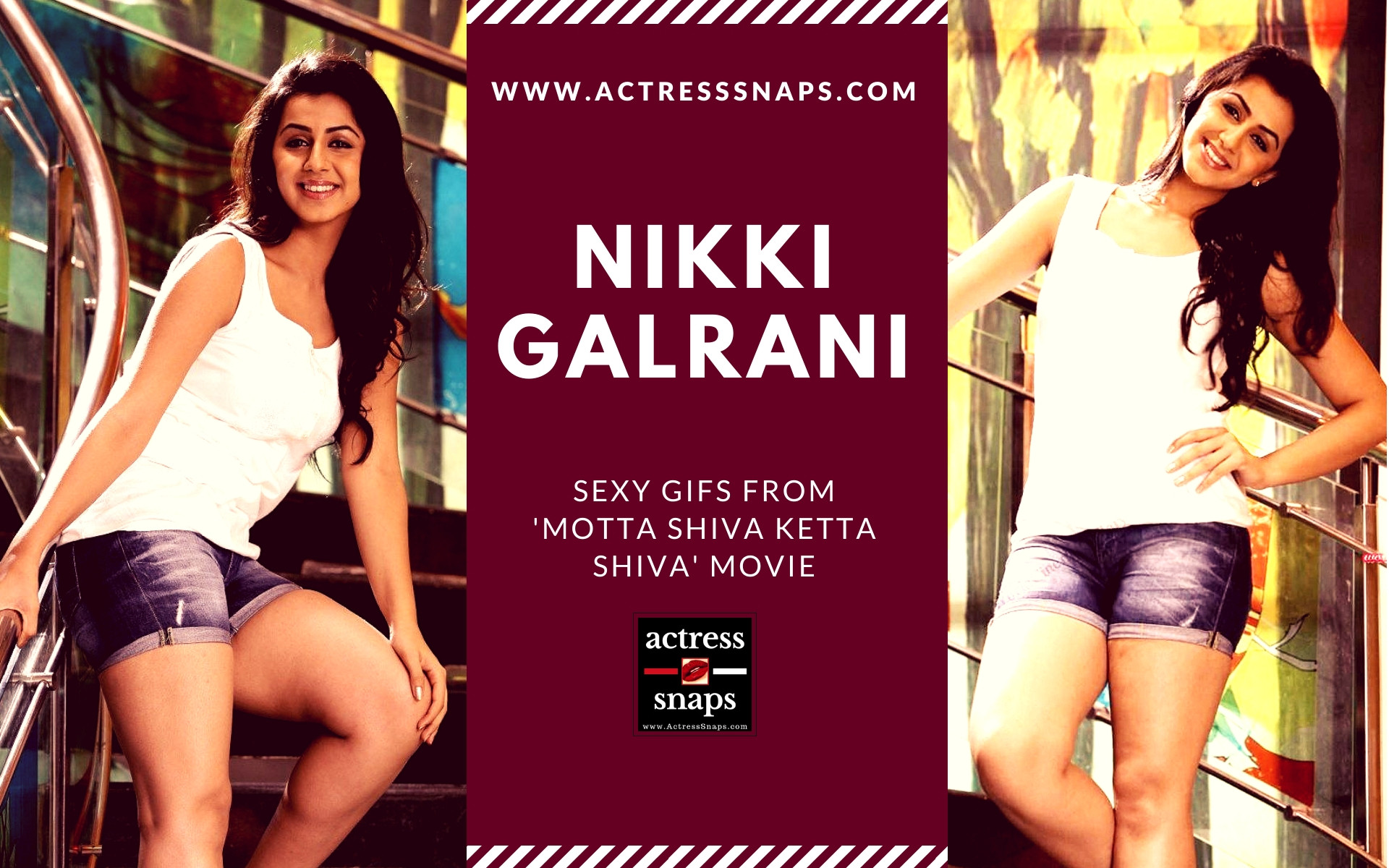 Sexy Nikki Galrani GIFs - Sexy Actress Pictures | Hot Actress Pictures - ActressSnaps.com