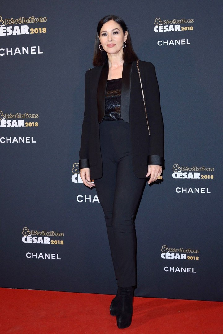 Monica Bellucci at Cesar's Award Party - Sexy Actress Pictures | Hot Actress Pictures
