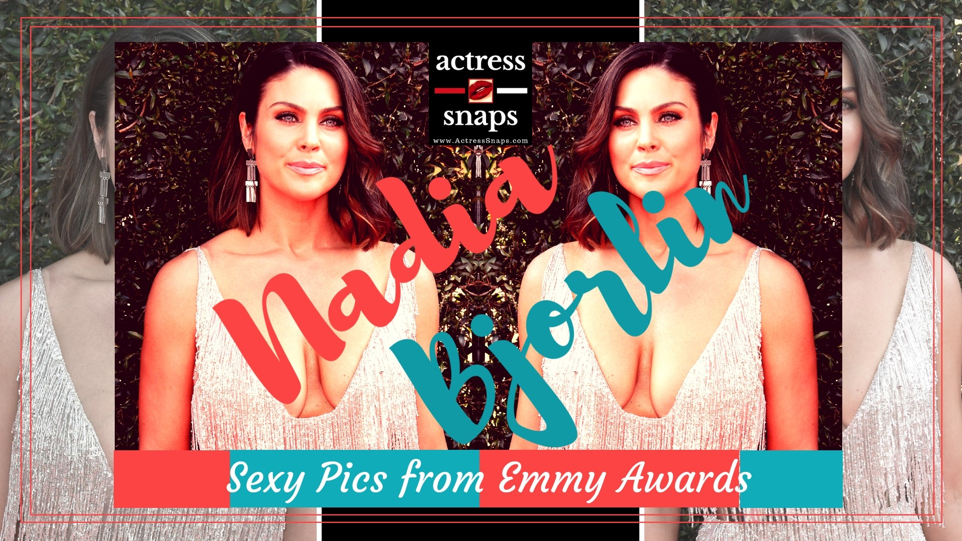 Nadia Bjorlin attending  Emmy Awards - Sexy Actress Pictures | Hot Actress Pictures - ActressSnaps.com