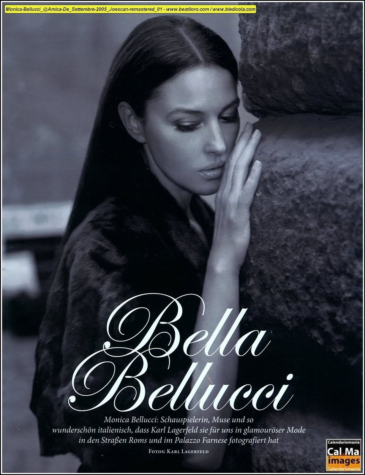 Monica Belluci - Amica Magazine Sep 05 Scans - Sexy Actress Pictures | Hot Actress Pictures