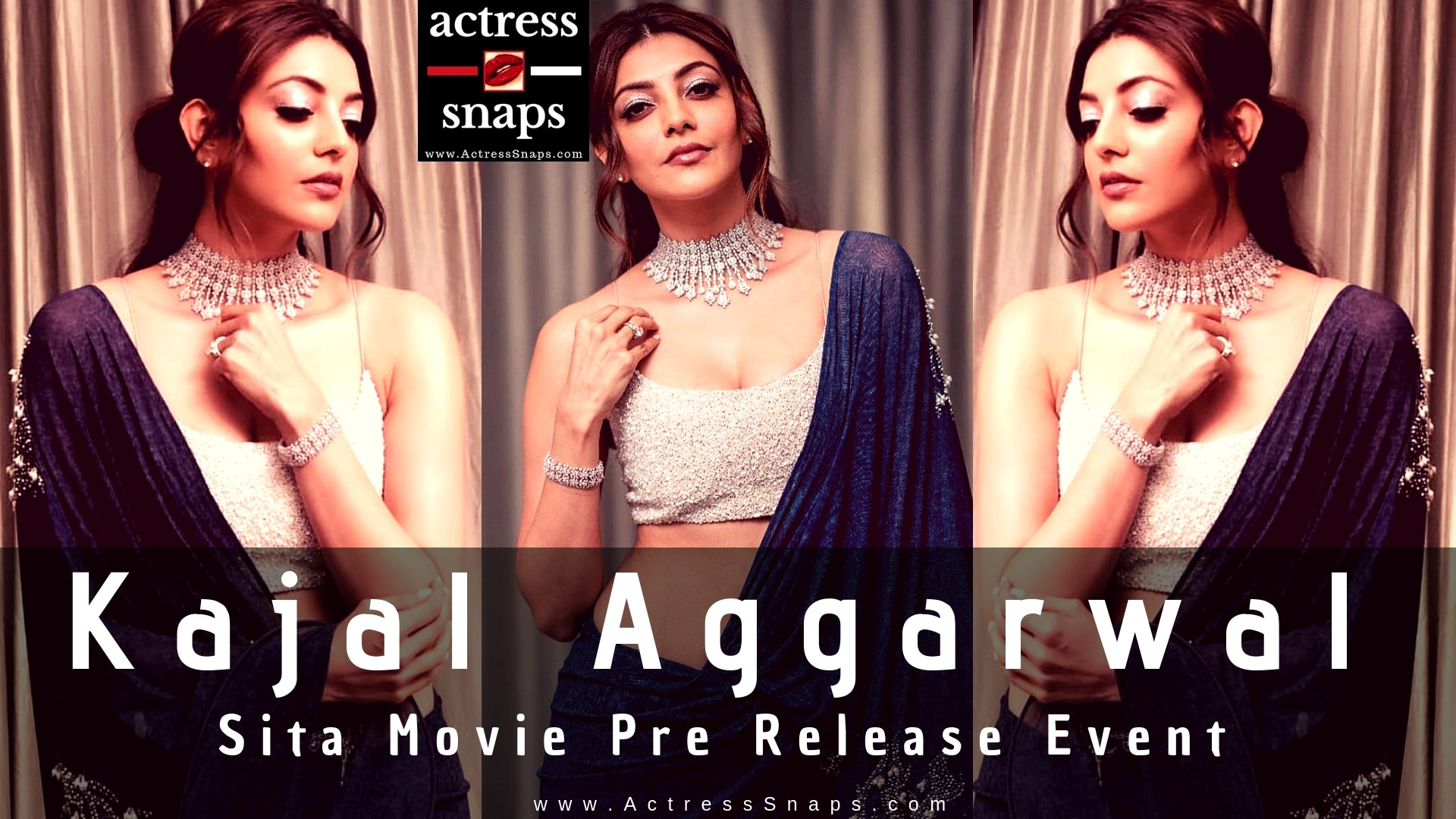 Sexy Kajal Agarway at Movie Event - Sexy Actress Pictures | Hot Actress Pictures - ActressSnaps.com
