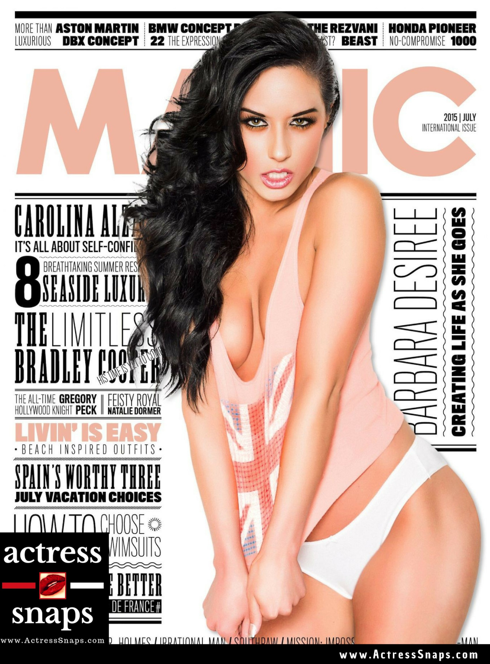 Barbara Desiree - Manic Magazine Photos - Sexy Actress Pictures | Hot Actress Pictures - ActressSnaps.com