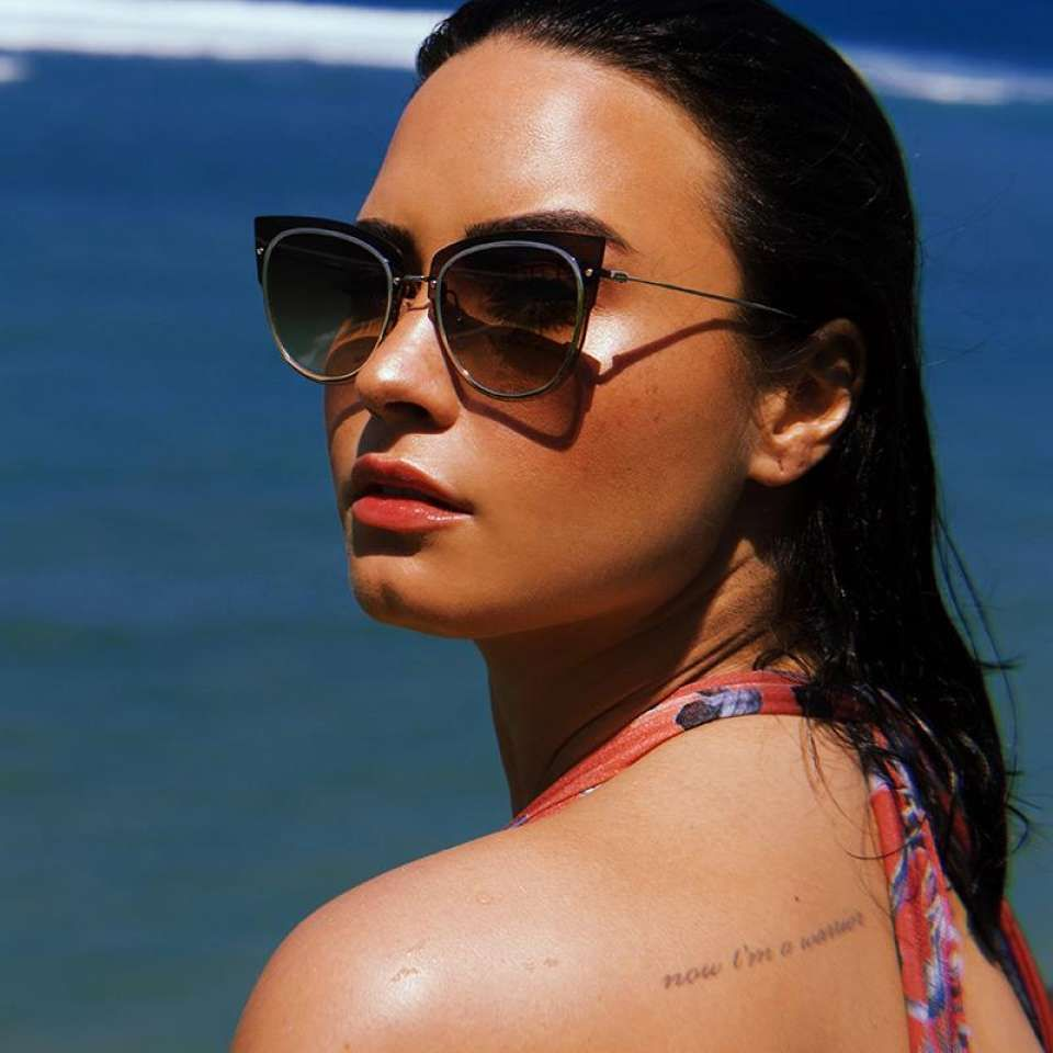 Demi Lovato – Photoshoot for DIFF Eyewear 2018 - Sexy Actress Pictures | Hot Actress Pictures - ActressSnaps.com