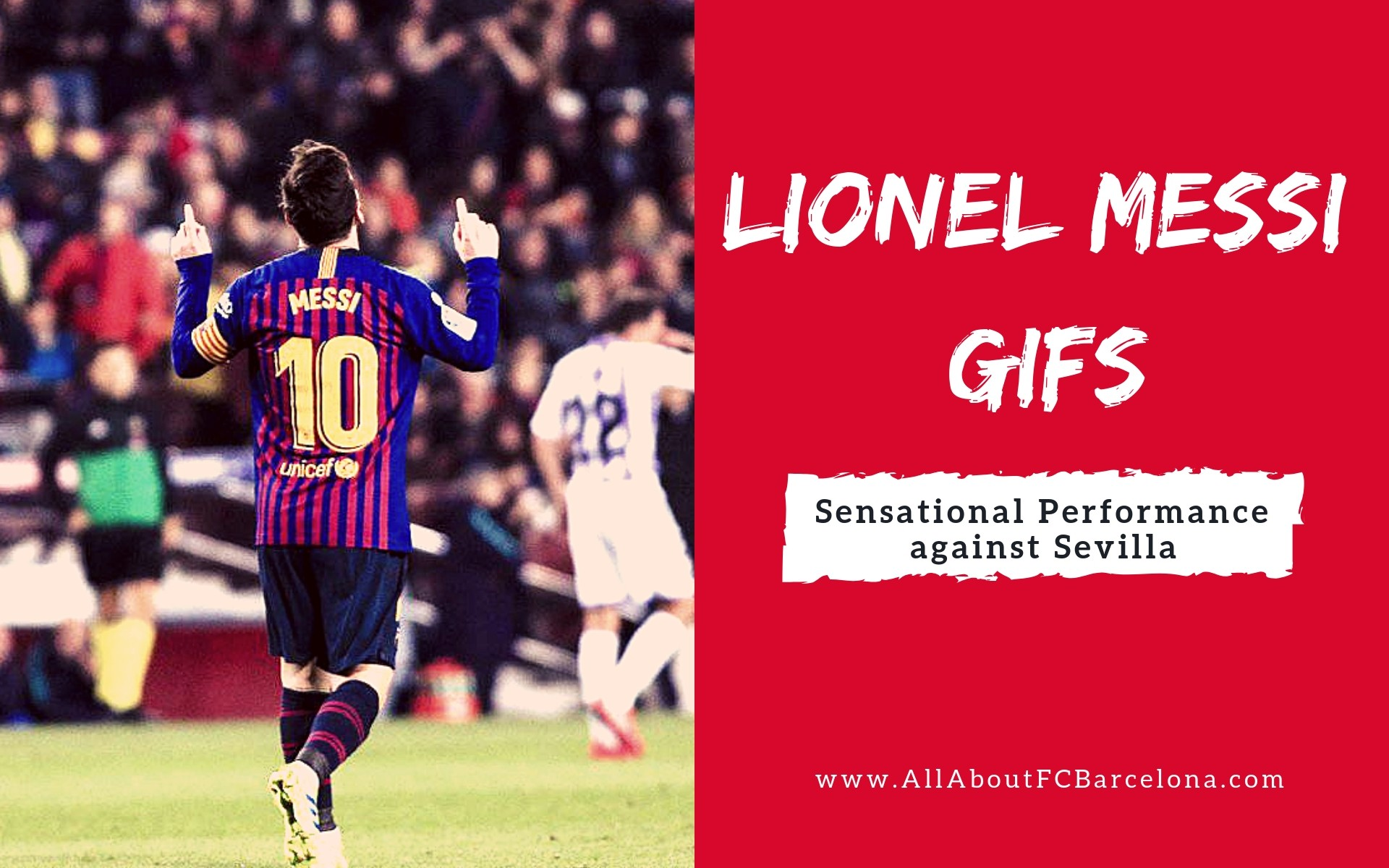 Lionel Messi against Sevilla - GIF Photos - AllAboutFCBarcelona.com