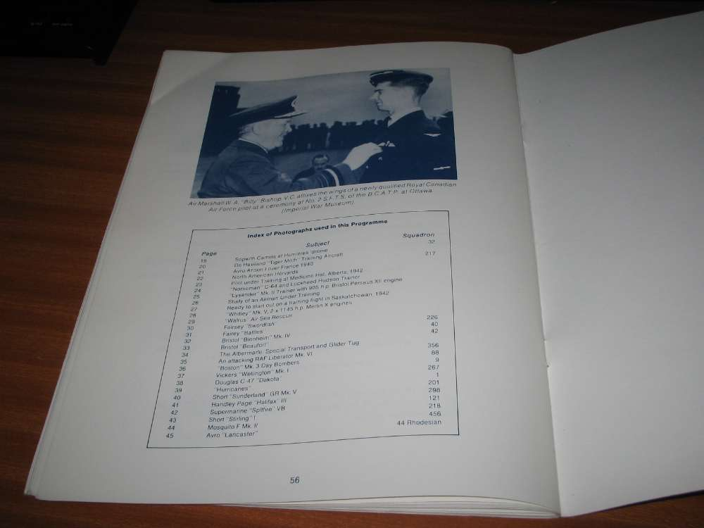 Details about 5TH COMMONWEALTH WARTIME AIRCREW REUNION 1988 CANADA SOUVENIR  PROGRAMME