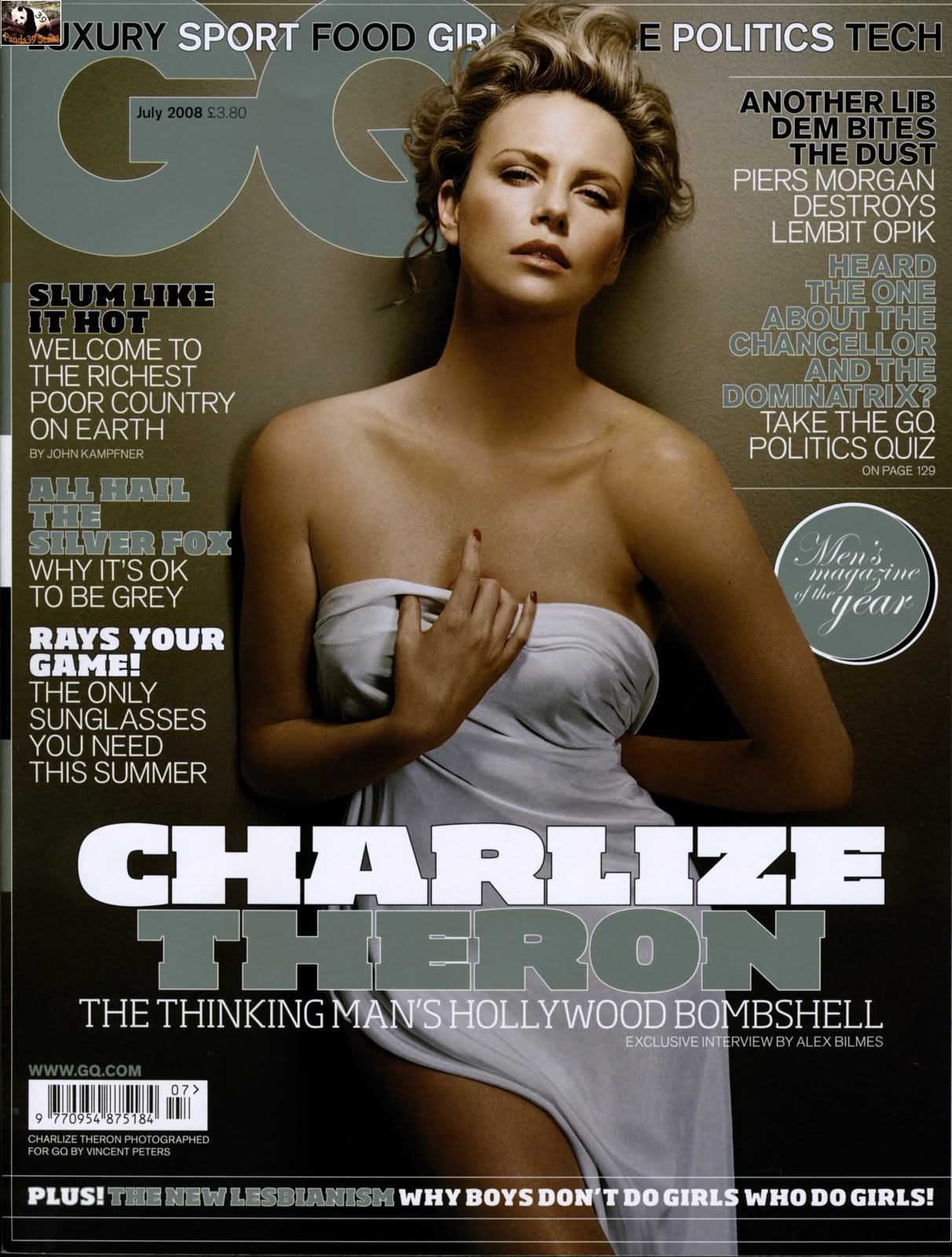 Charlize Theron - Vincent Peters Photoshoot - GQ Magazine July 2008 - Sexy Actress Pictures | Hot Actress Pictures