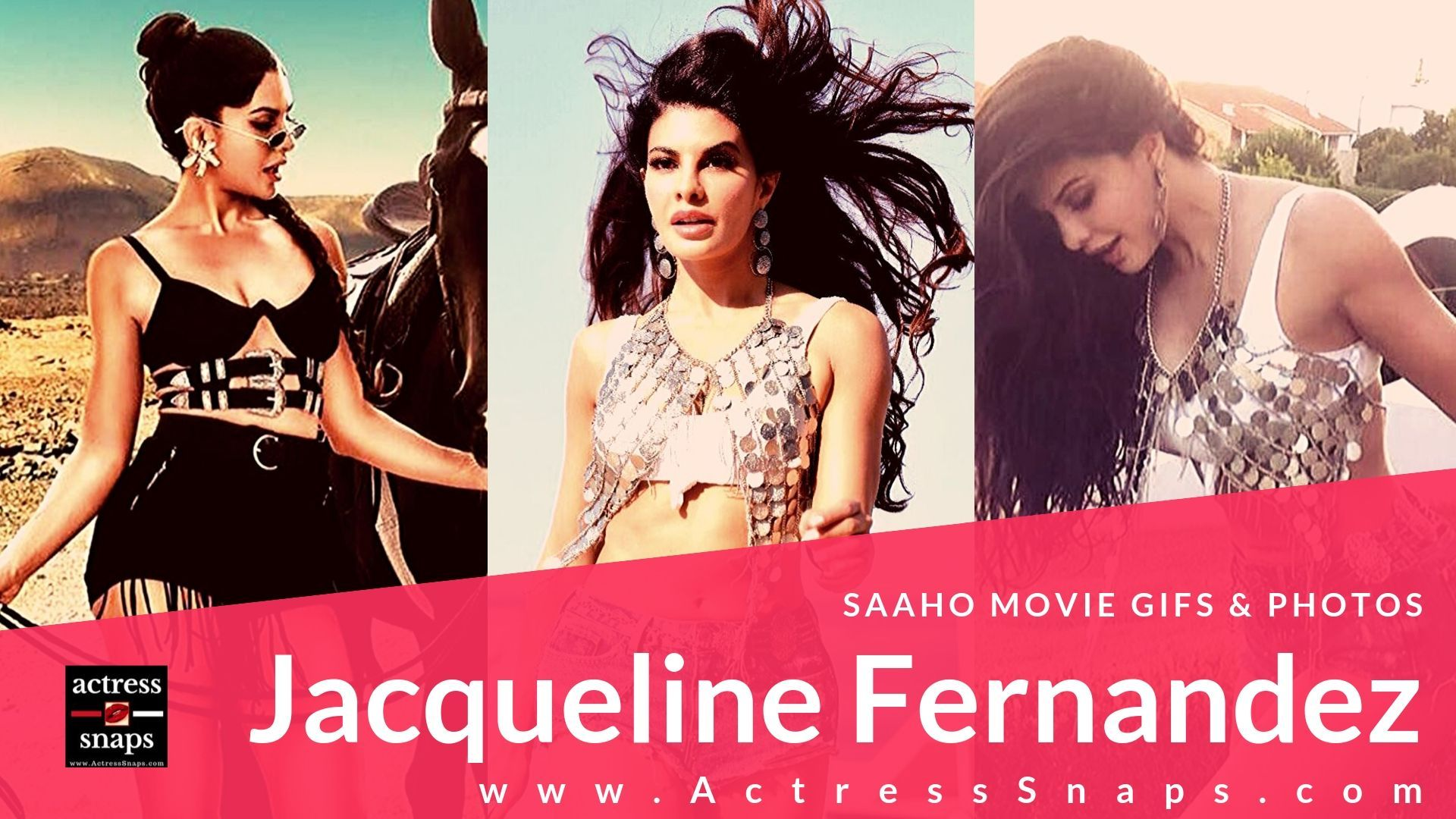 Jacqueline Fernandez - Saaho Movie Gifs - Sexy Actress Pictures | Hot Actress Pictures - ActressSnaps.com