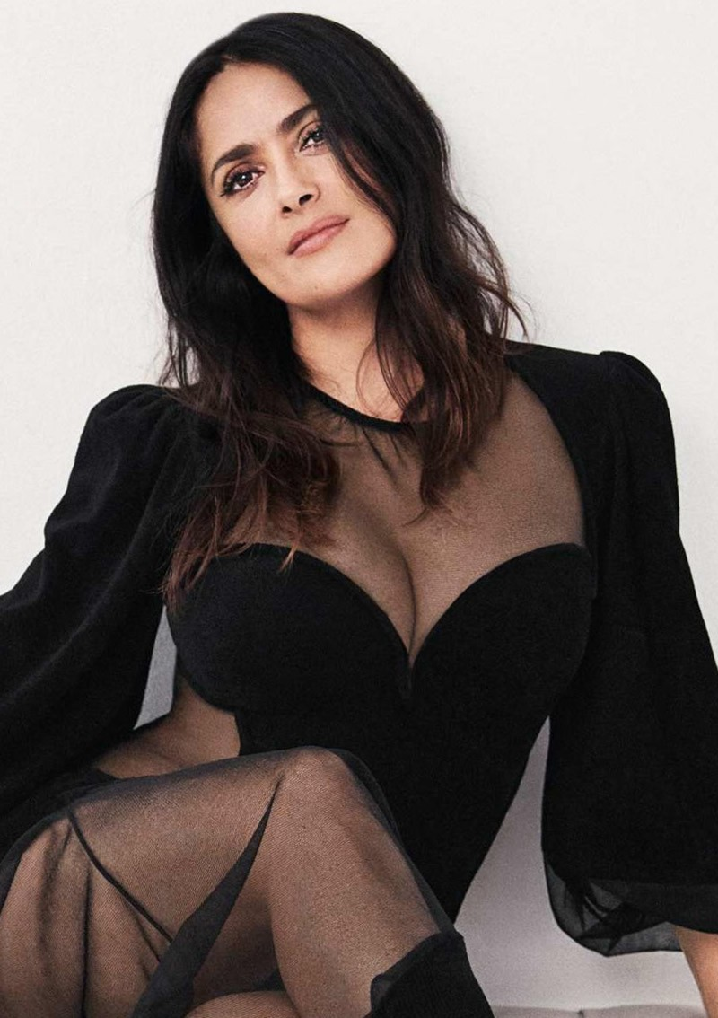 Sexy Salma Hayek from ELLE Magazine - Sexy Actress Pictures | Hot Actress Pictures - ActressSnaps.com
