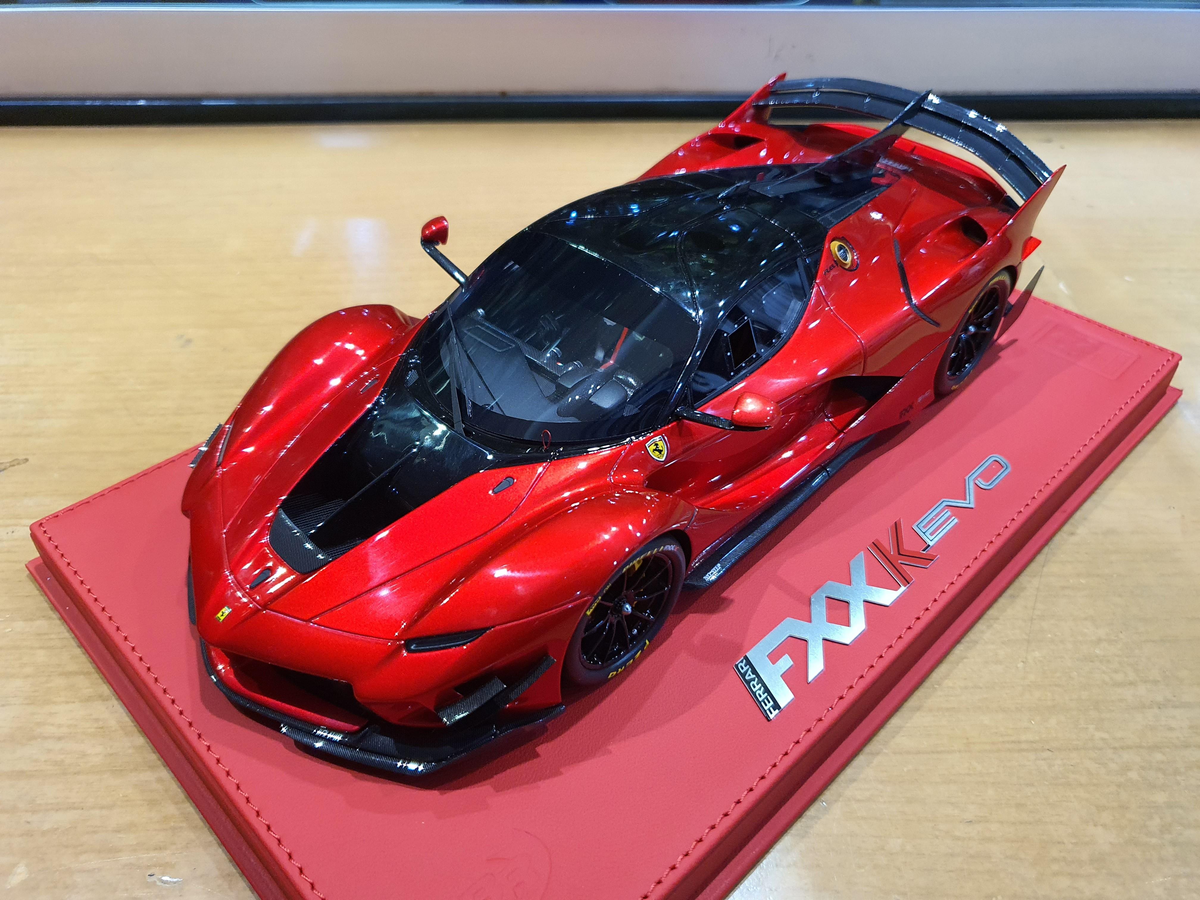 Bbr Ferrari Fxxk Evo Ferrari Diecastxchange Com Diecast Cars Forums