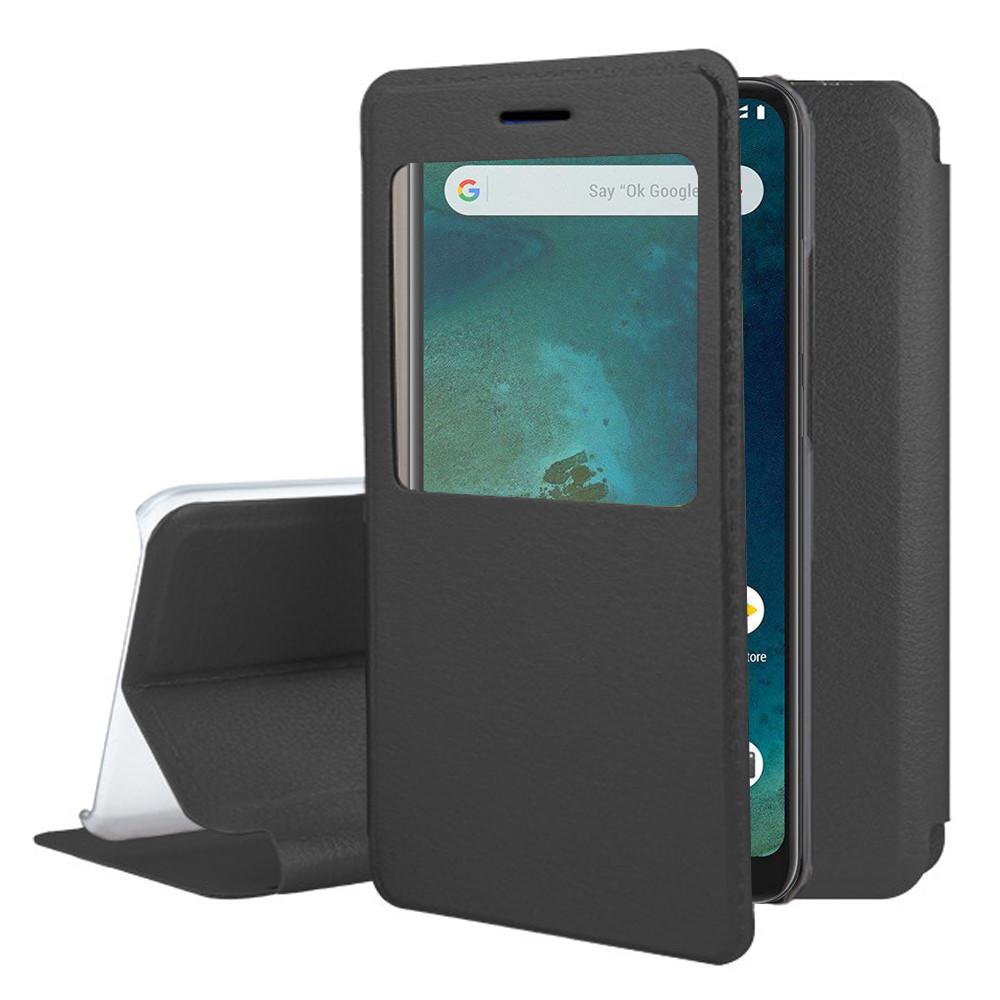 check out dd08c c05bc Details about Cover Case View Shell Flip Folio Leather Xiaomi mi A2 Lite /  Redmi 6 pro 5.84
