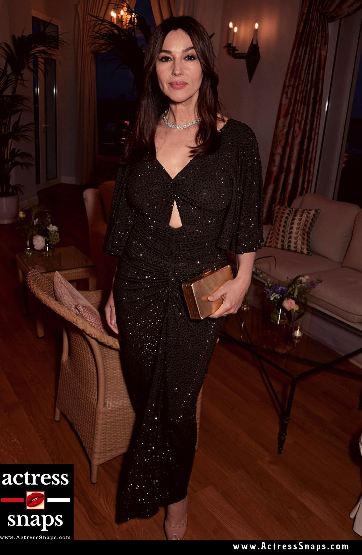 Monica Bellucci attend Annual Filmmakers Dinner in Cannes - Sexy Actress Pictures | Hot Actress Pictures - ActressSnaps.com