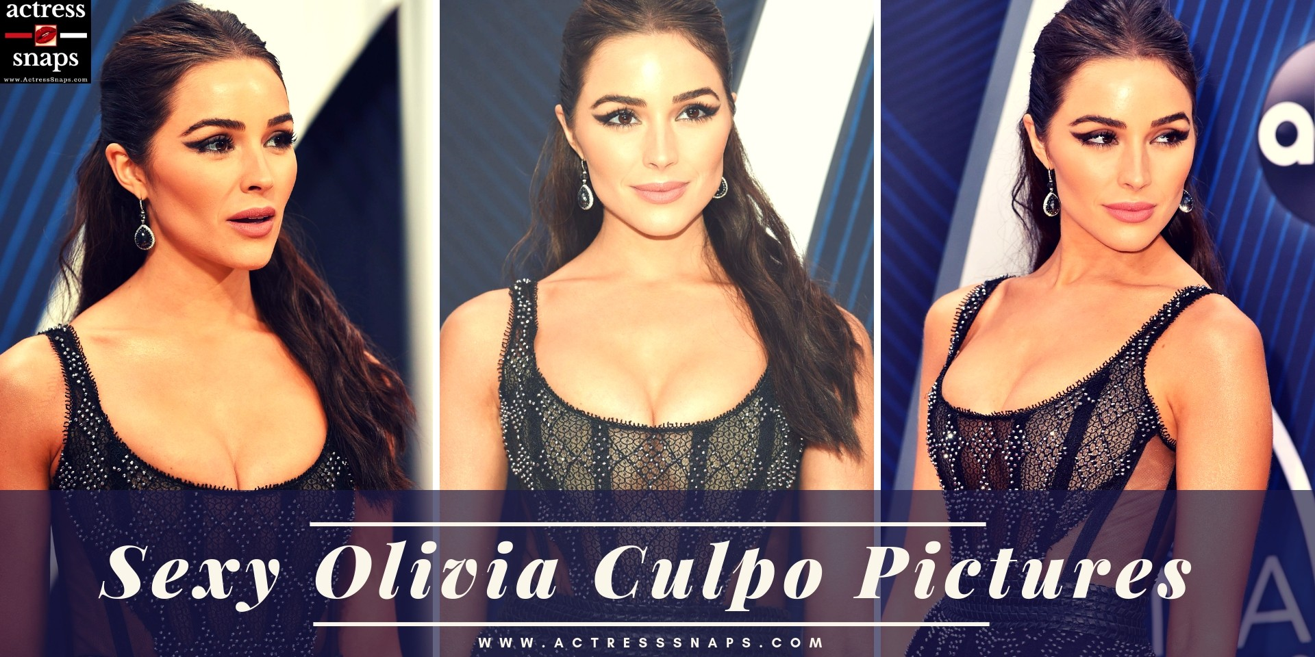 Sexy Olivia Culpo Pictures from her attending the Latest CMA Awards Night