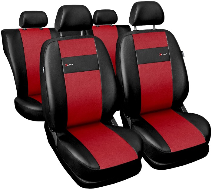 Car seat covers fit BMW 1 Series  black  leatherette full set