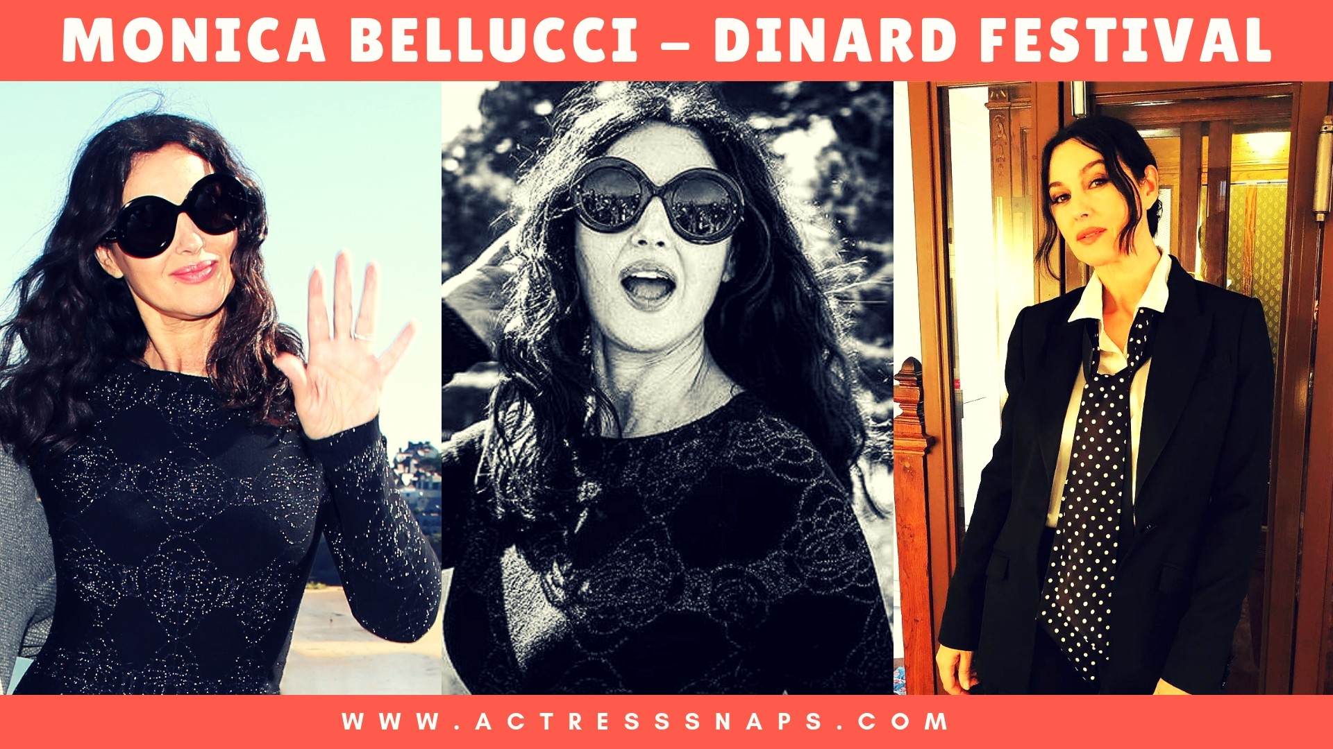 Monica Bellucci at The Dinard Film Festival Pictures #monicabellucci #bellucci