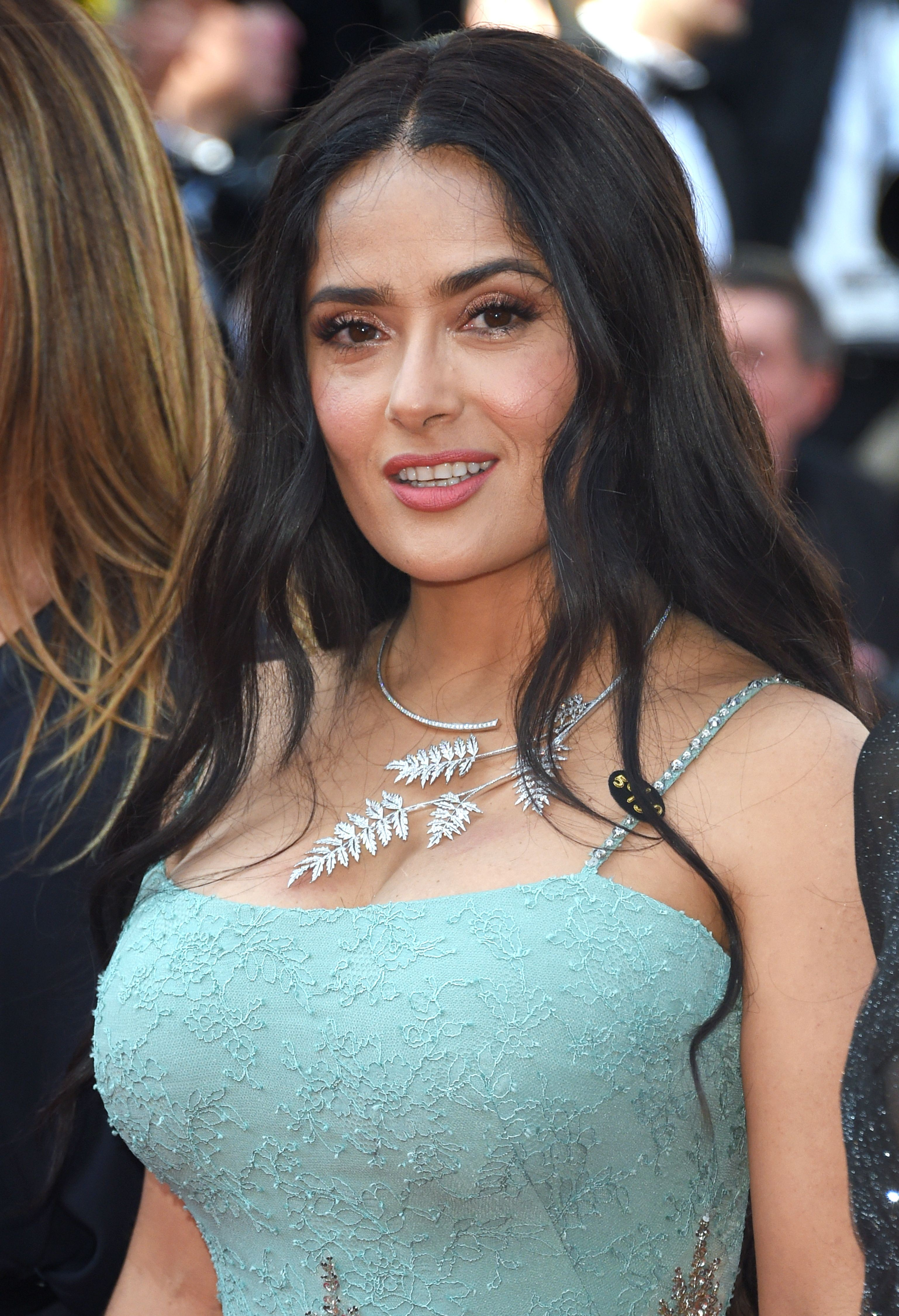 Salma Hayek - 'Girls of the Sun' screening - Sexy Actress Pictures | Hot Actress Pictures