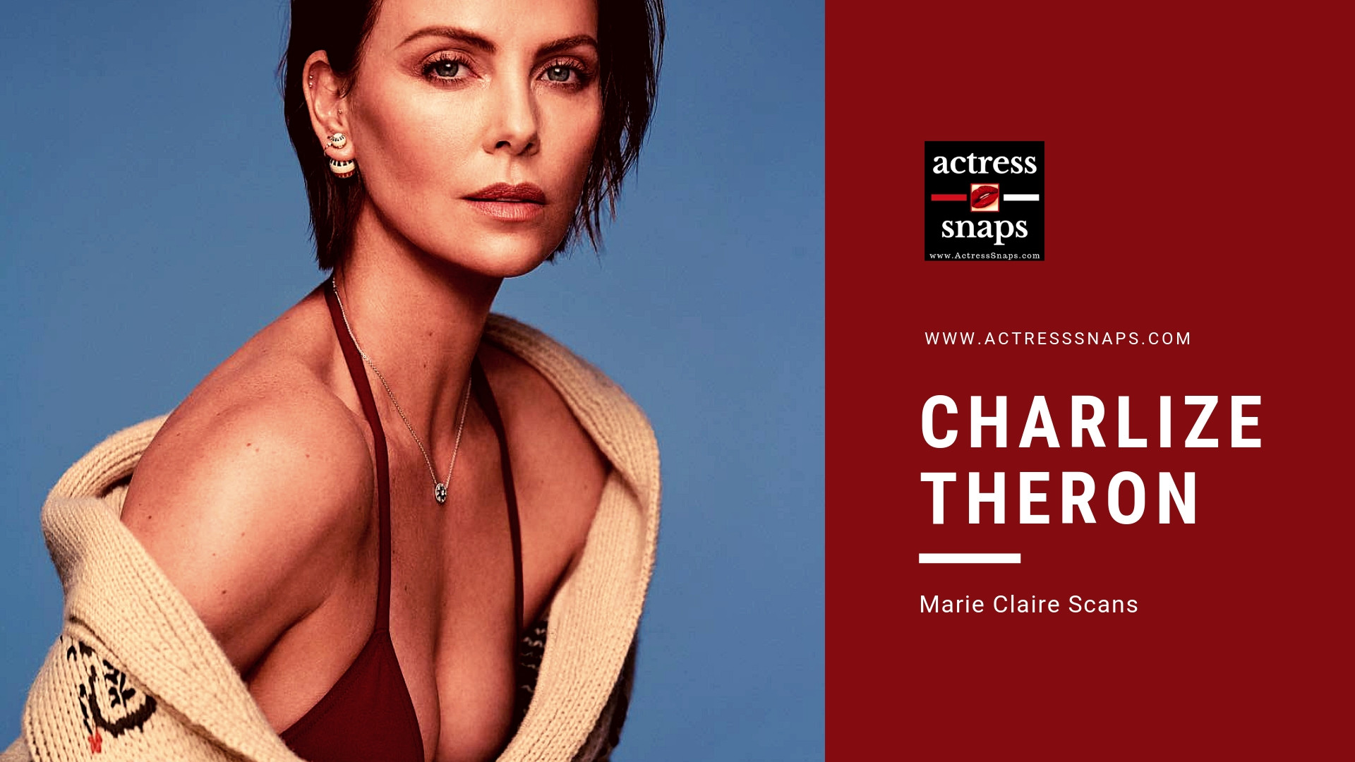 Charlize Theron - Marie Claire Magazine Photos - Sexy Actress Pictures | Hot Actress Pictures - ActressSnaps.com