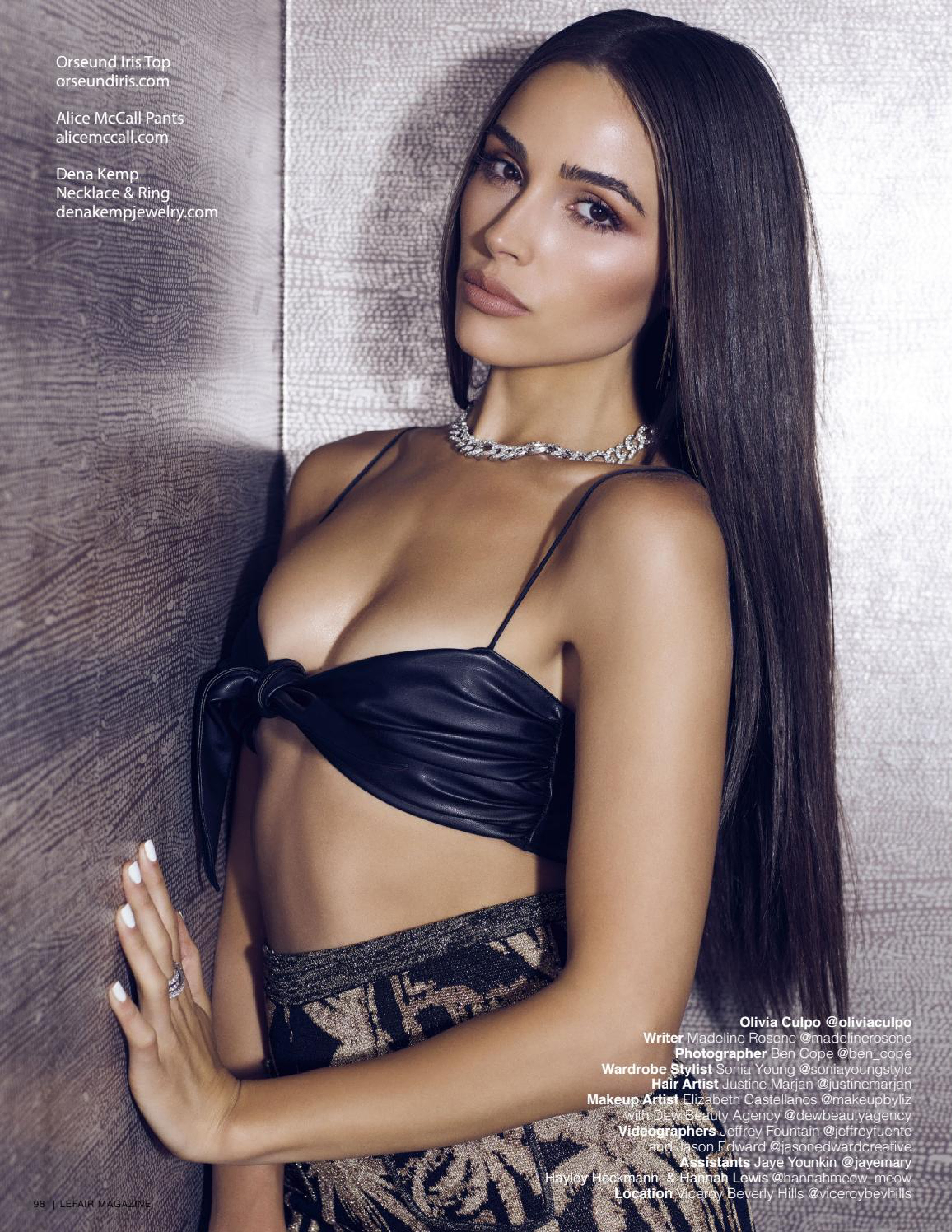 Olivia Culpo - Lefair Magazine Scans - Sexy Actress Pictures | Hot Actress Pictures - ActressSnaps.com