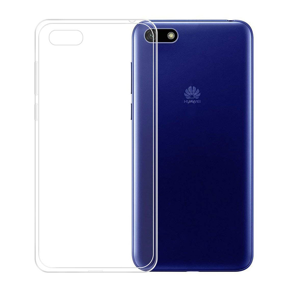 design senza tempo 22712 b965c Details about Case Cover Gel UltraSlim TPU Clare Silicone for Huawei Y5  Lite (2018) 5.45