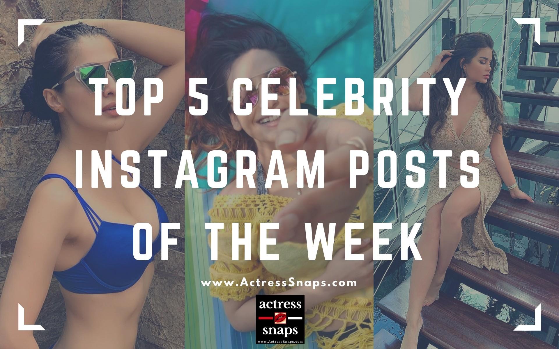 Trending Celebrity Instagram Pics of the Week #LakshmiRai #RaginiDwivedi #AnastasiyaKvitko #SaraSampaio #KendraLust